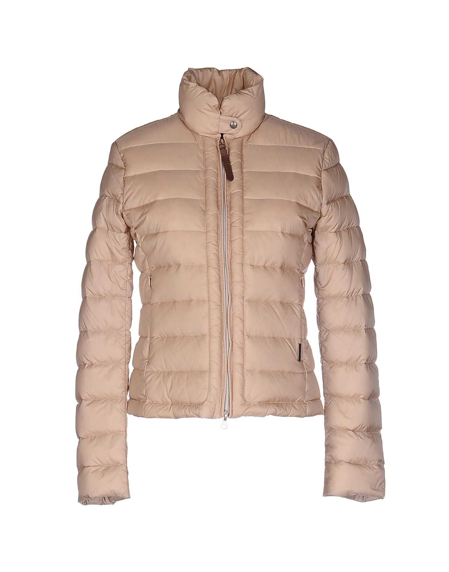 woolrich down jacket in multicolor beige lyst. Black Bedroom Furniture Sets. Home Design Ideas