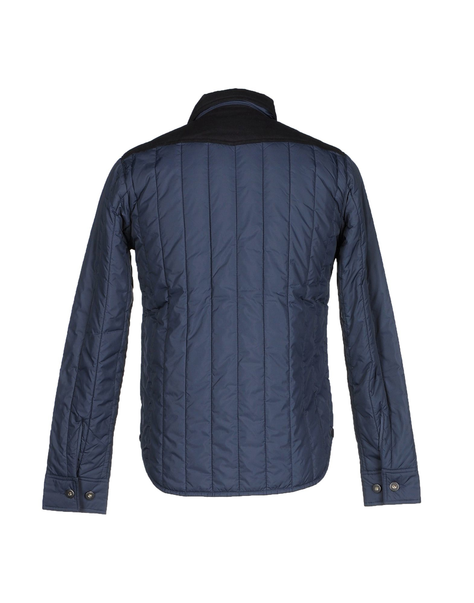 lyst replay jacket in blue for men