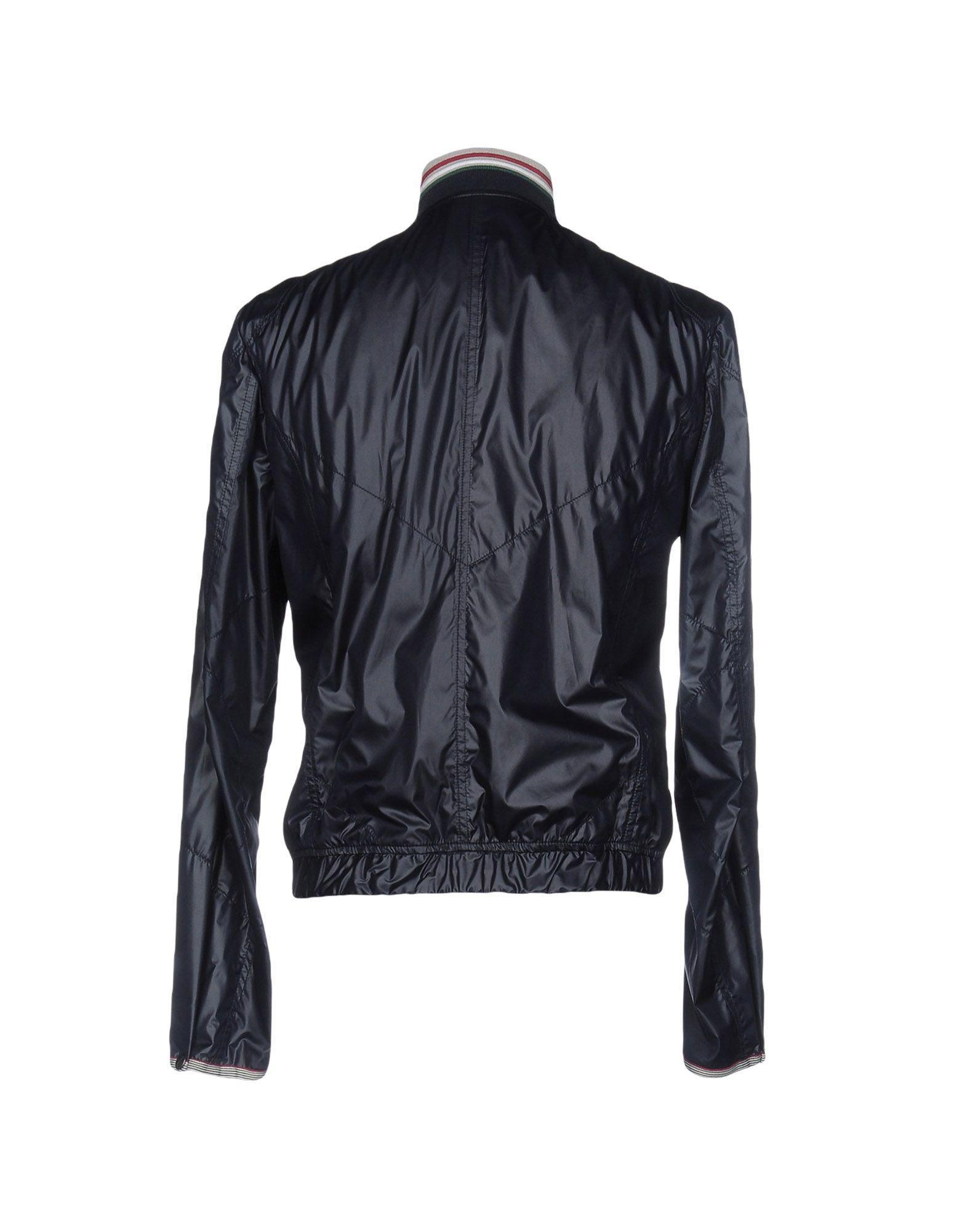 Brema Synthetic Jacket in Dark Blue (Blue) for Men