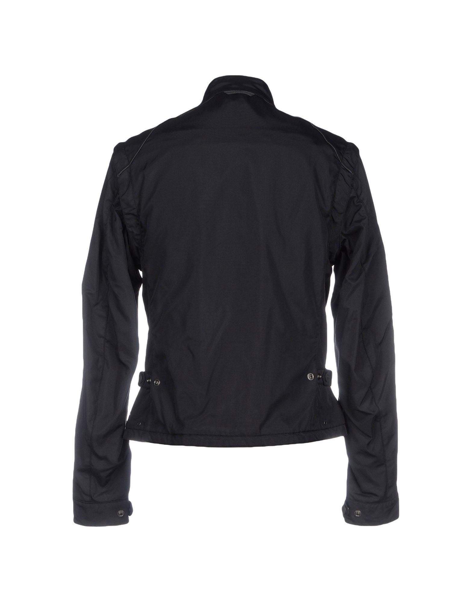 Brema Synthetic Jacket in Black for Men