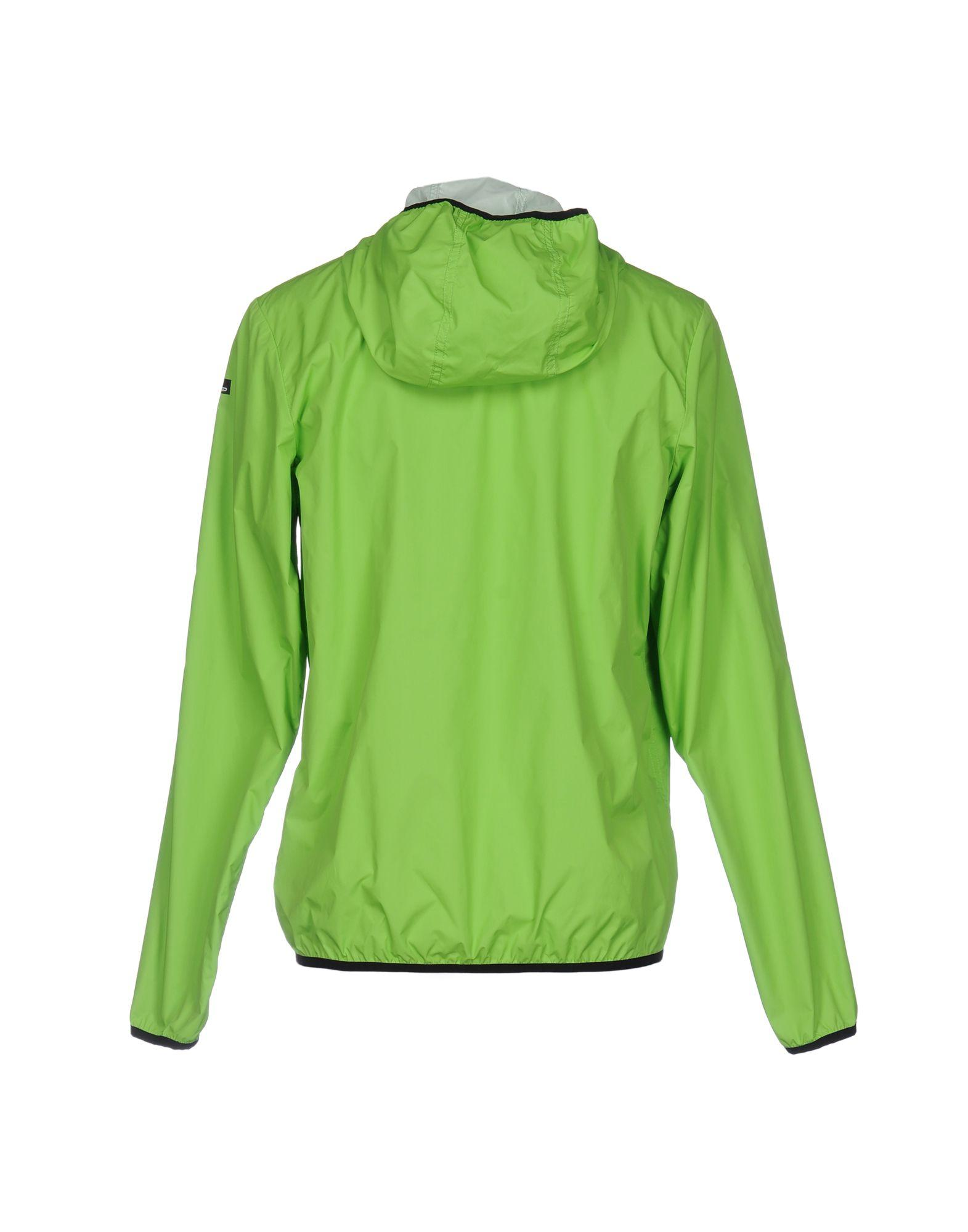 Rrd Synthetic Jacket in Acid Green (Green) for Men