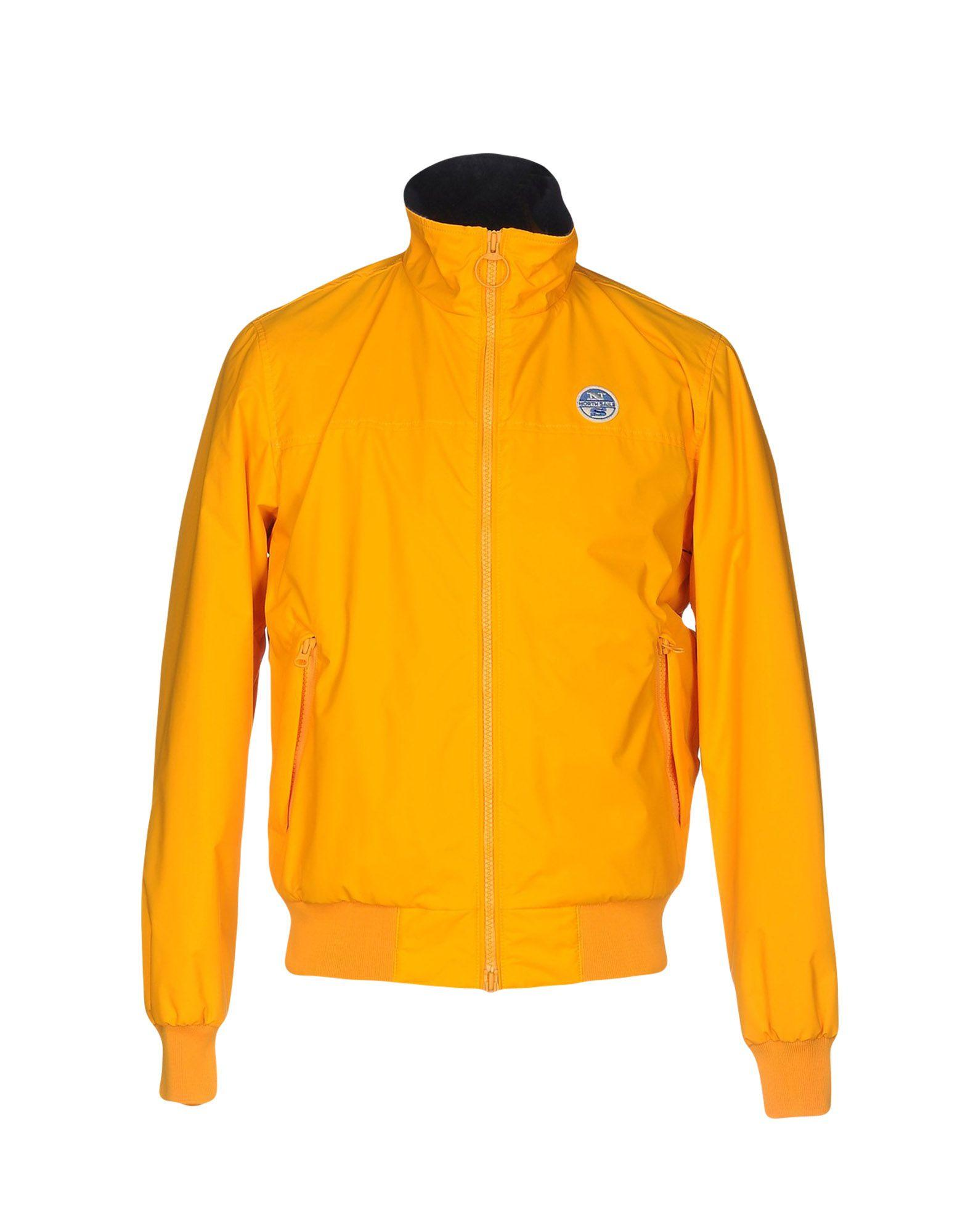 lyst north sails jacket in yellow for men. Black Bedroom Furniture Sets. Home Design Ideas