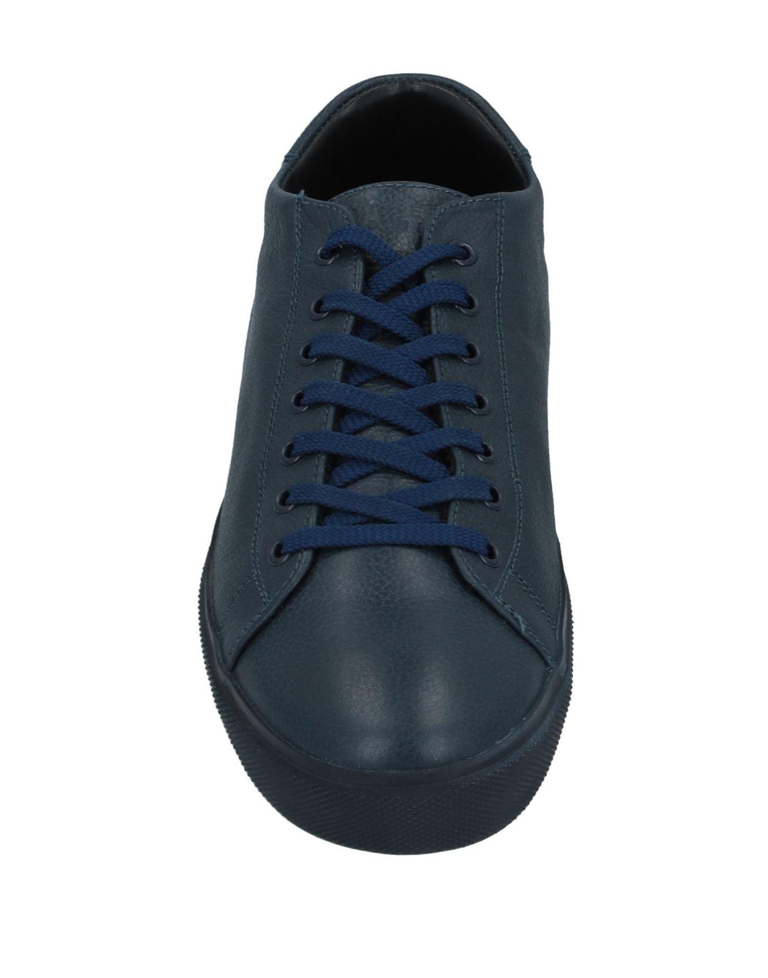 Sneakers & Deportivas Leather Crown de Cuero de color Azul para hombre