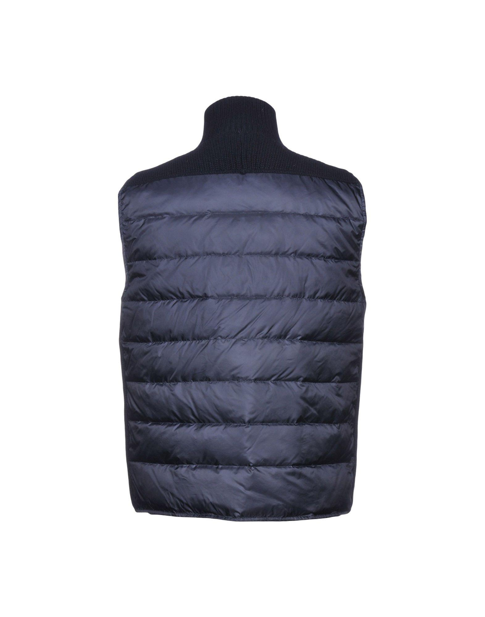 Cruciani Synthetic Down Jacket in Dark Blue (Blue) for Men