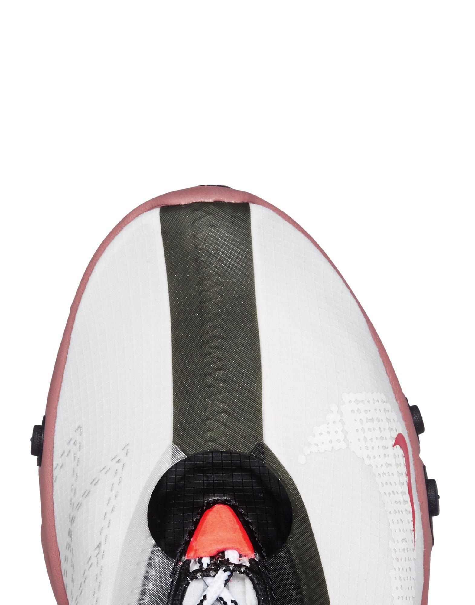 Sneakers abotinadas Nike de Caucho de color Blanco para hombre
