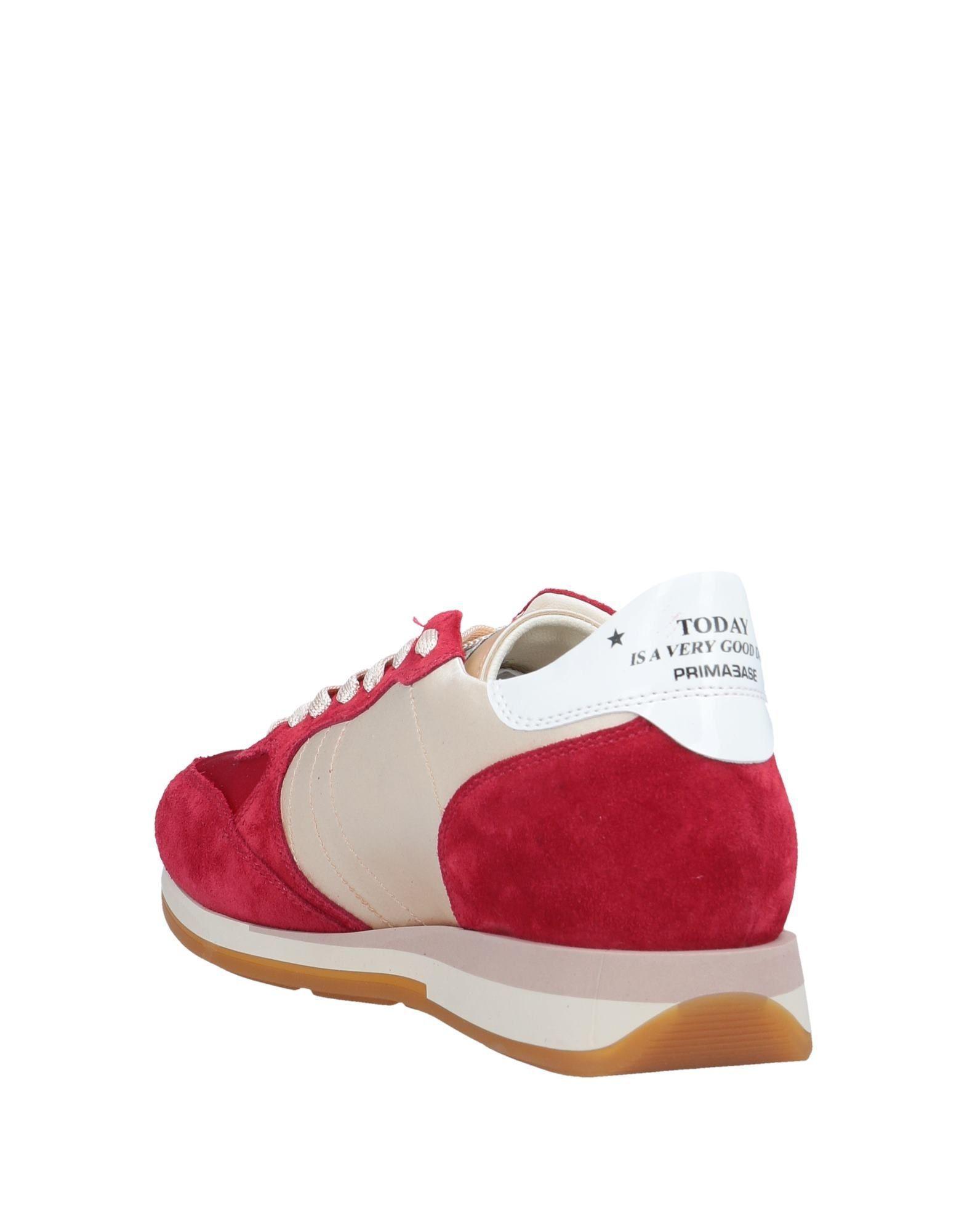 Sneakers & Deportivas Primabase de Raso de color Rojo
