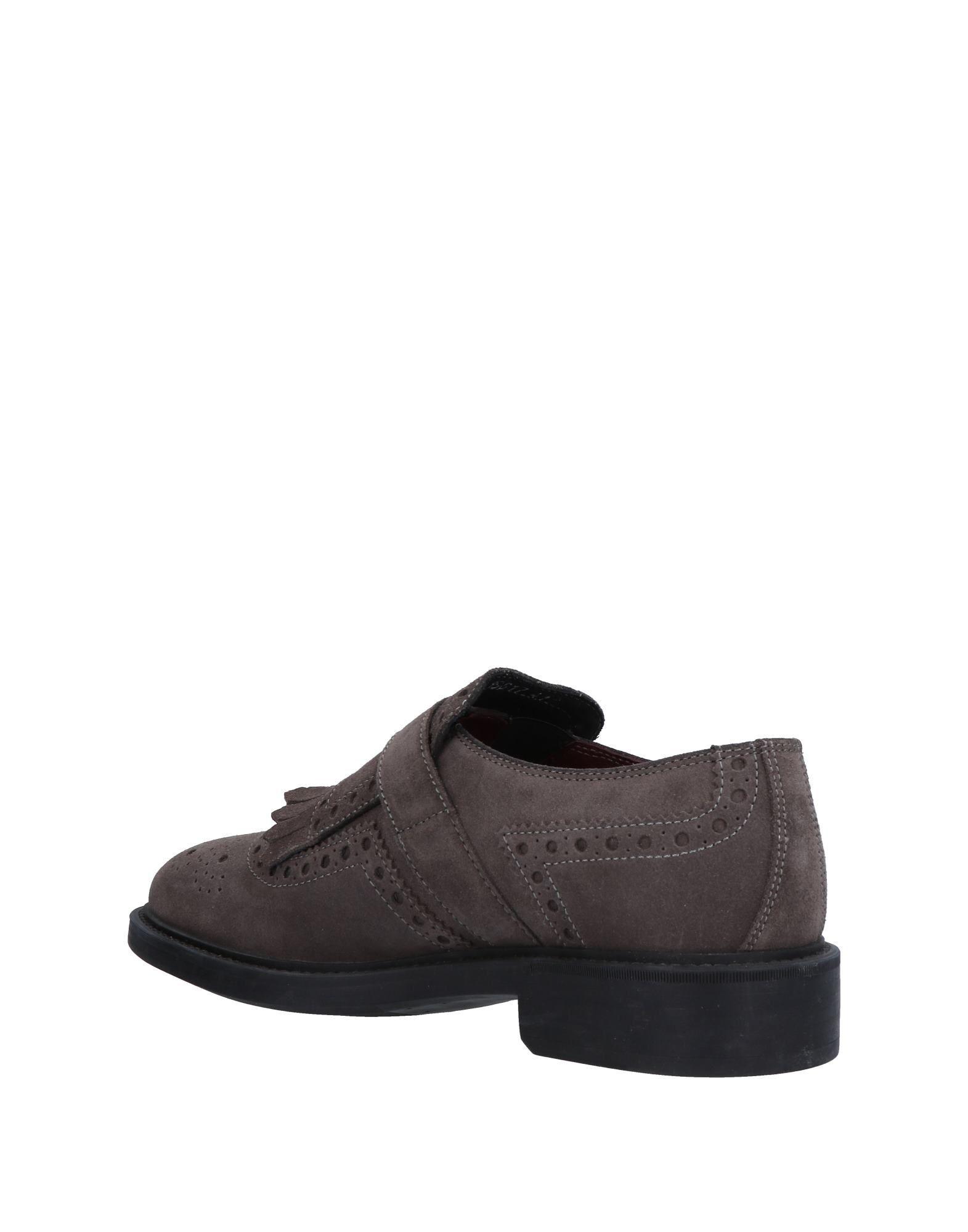 Antica Cuoieria Suede Loafers in Grey (Grey) for Men