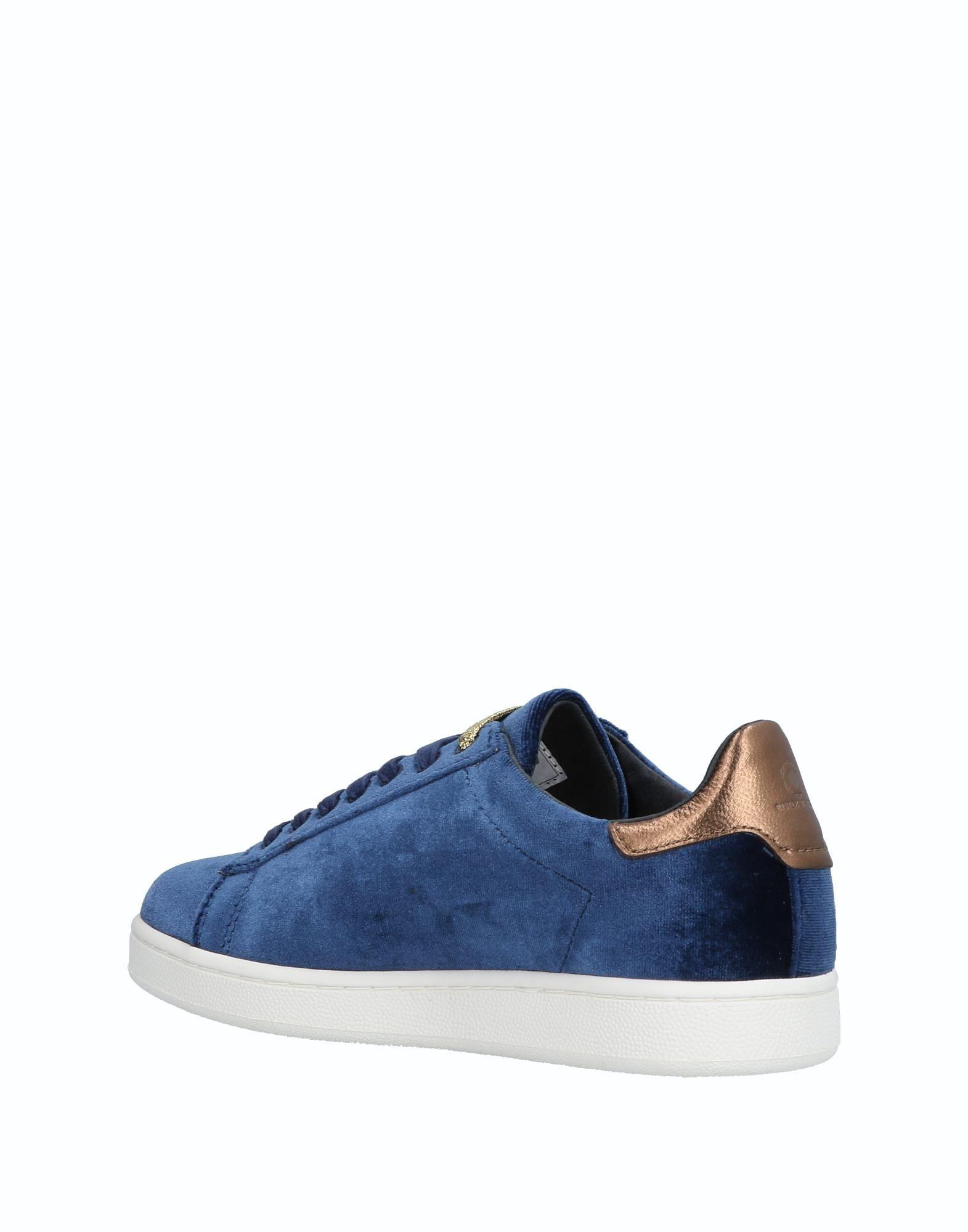 MOA Leather Low-tops & Sneakers in Blue