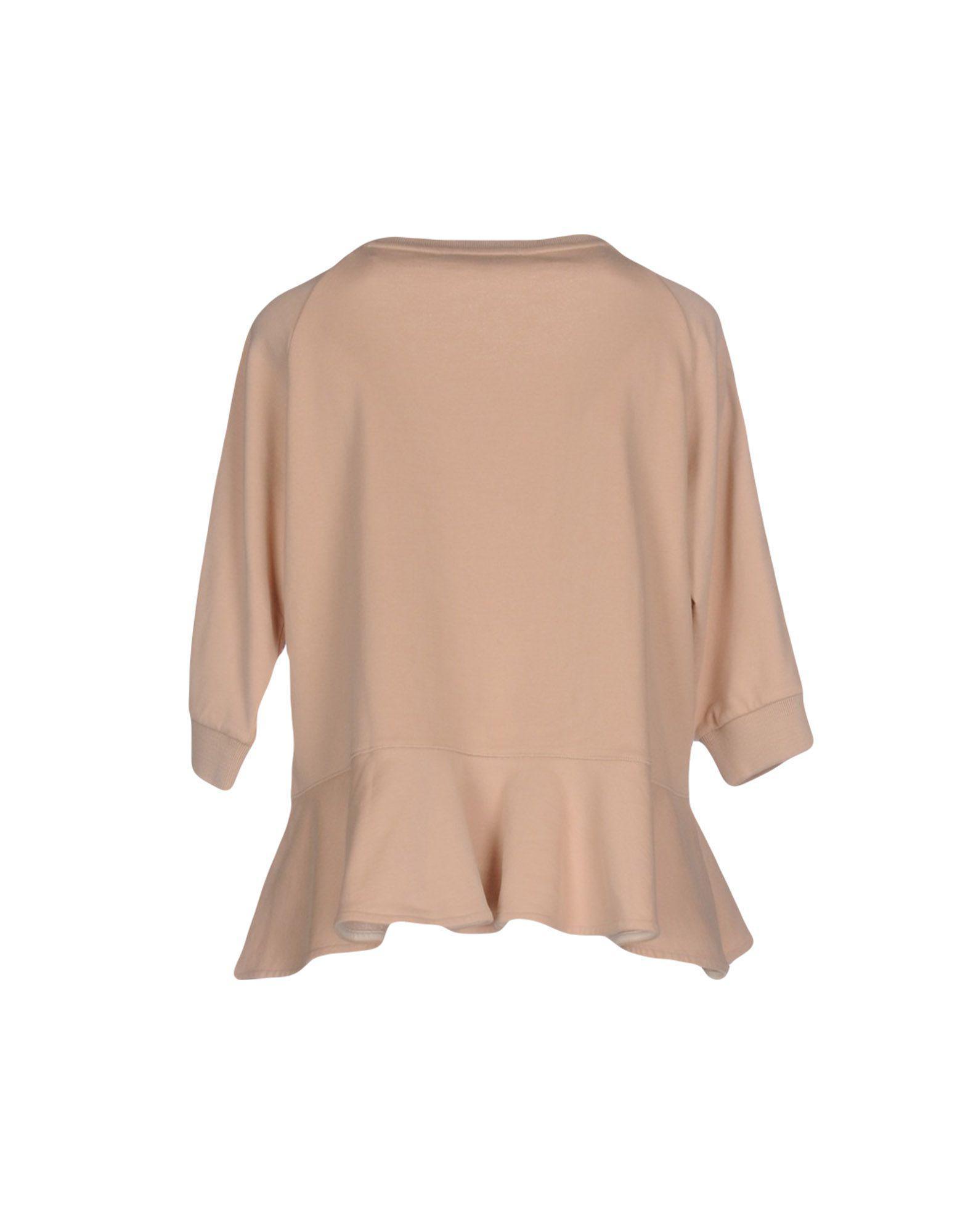 Sweat-shirt Polaire Patrizia Pepe en coloris Neutre