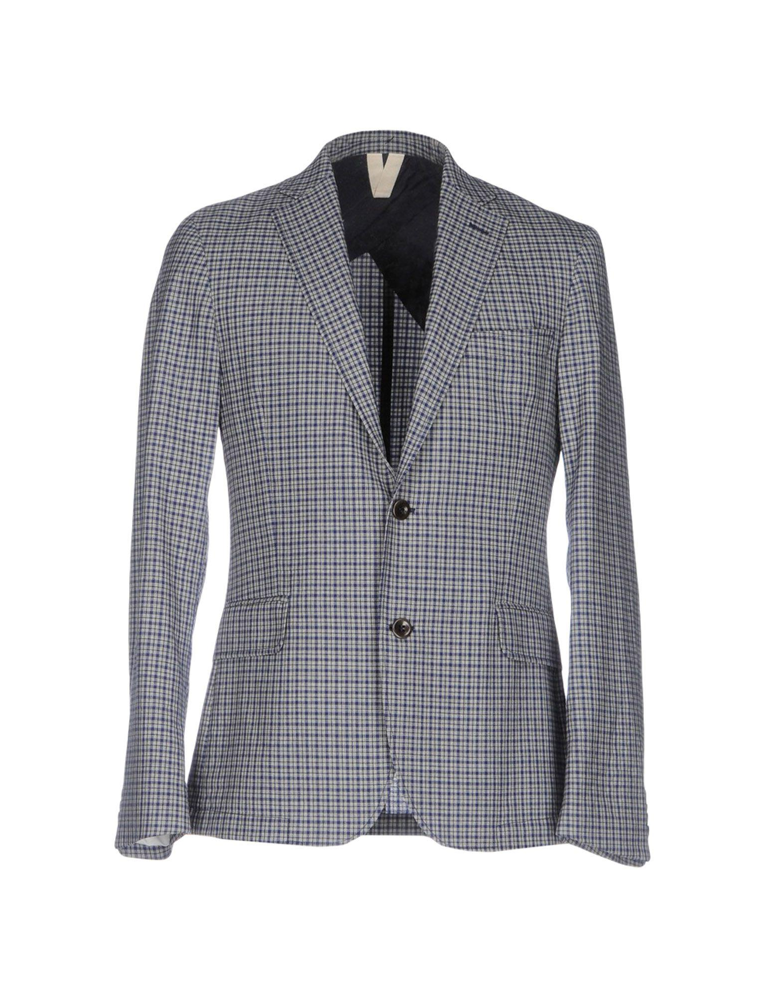 570b657040 Oscar Jacobson Blazer in Gray for Men - Lyst