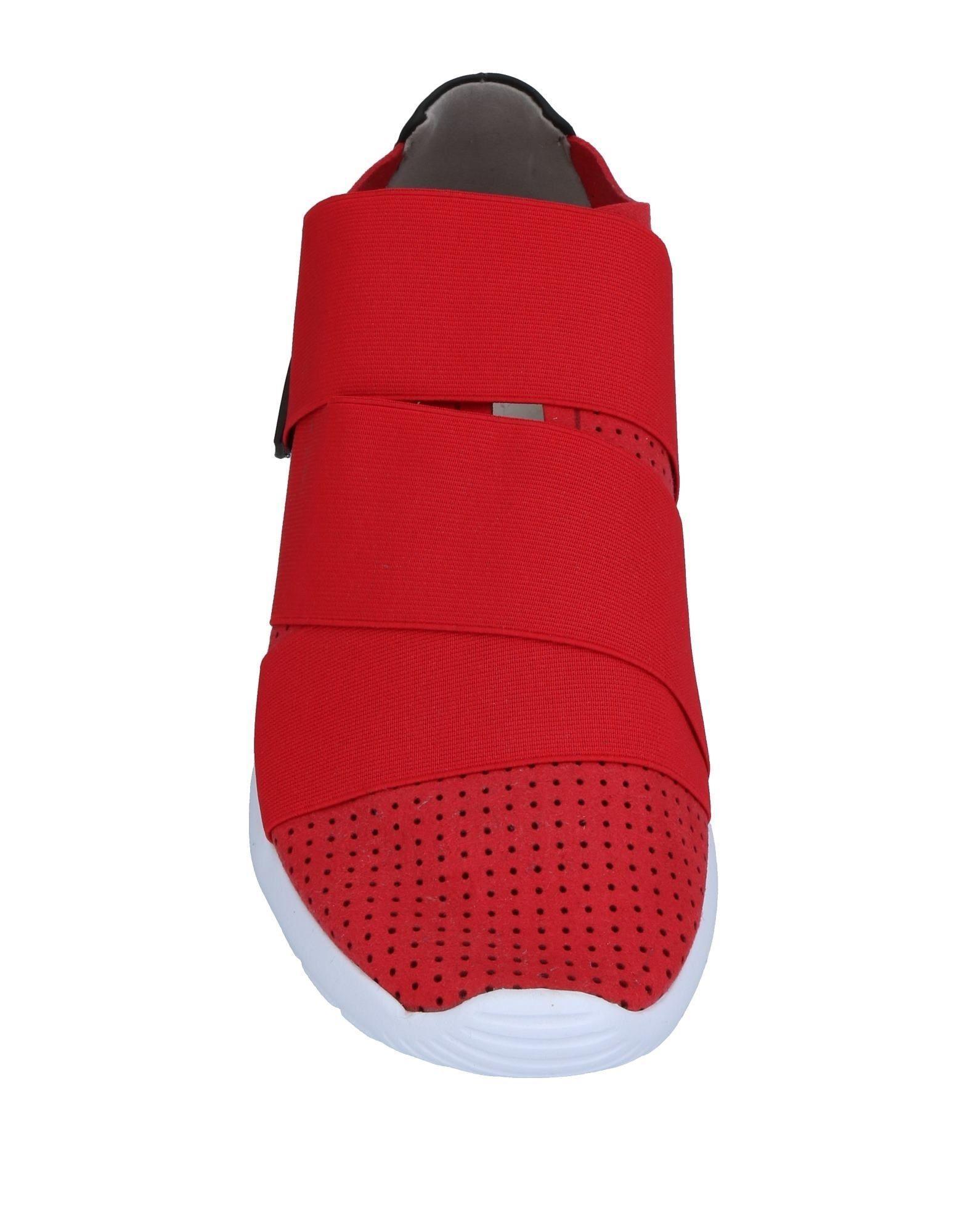 Sneakers & Deportivas Fessura de Franela de color Rojo para hombre
