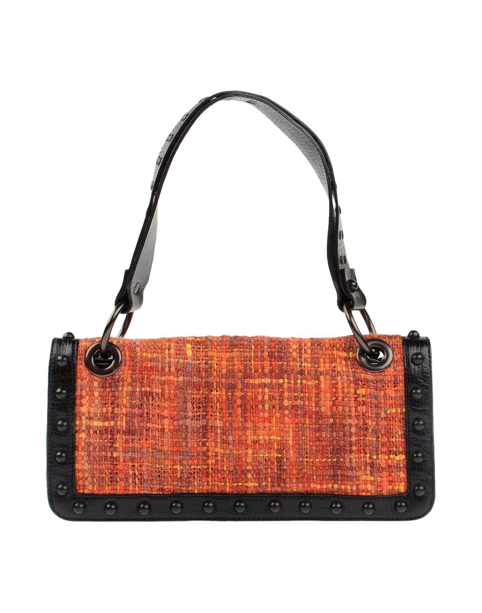 Lyst Francesco Biasia Handbag In Orange