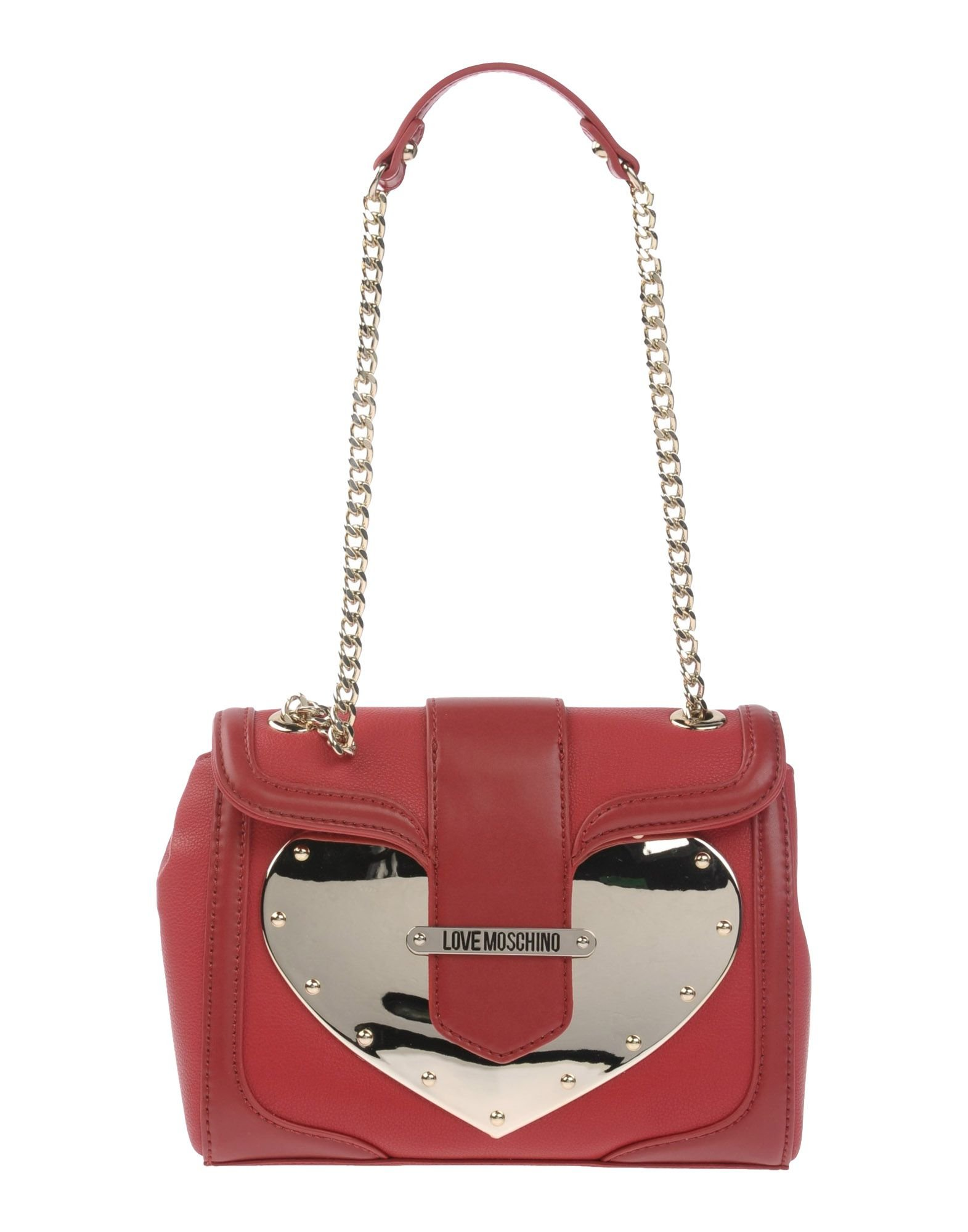 love moschino shoulder bag in red lyst. Black Bedroom Furniture Sets. Home Design Ideas