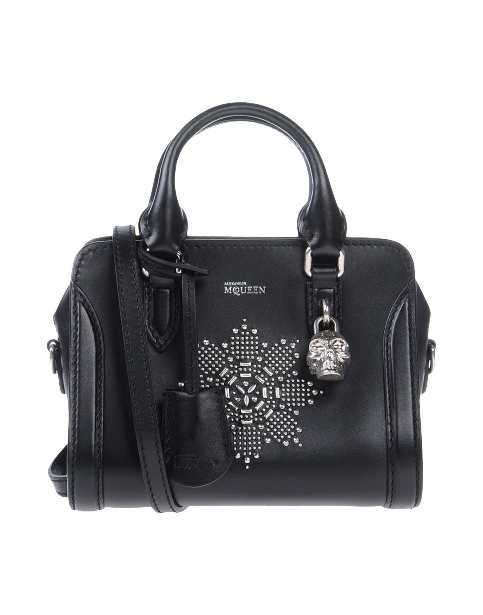 Alexander mcqueen Handbag in Black | Lyst
