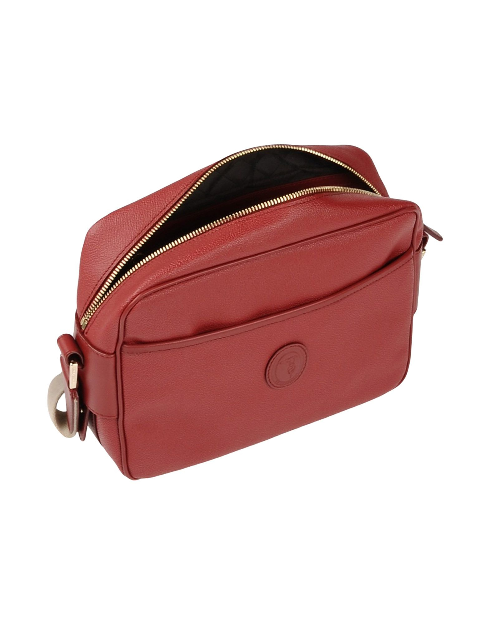 Trussardi Leather Cross-body Bag in Brick Red (Red)
