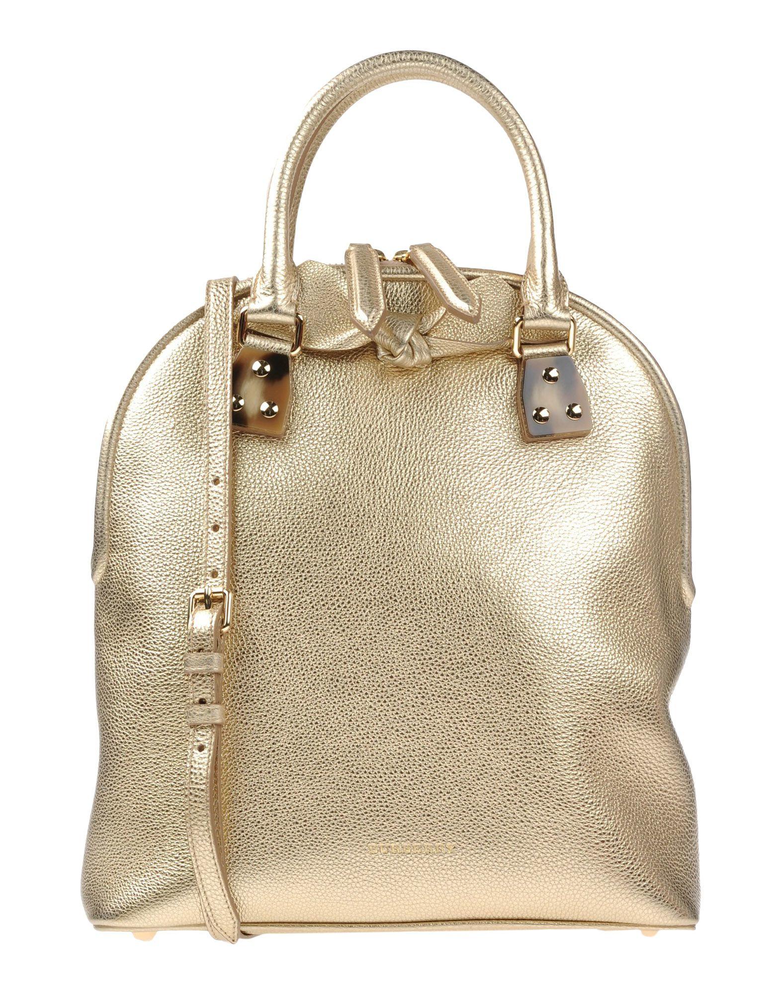 burberry handbag in metallic lyst. Black Bedroom Furniture Sets. Home Design Ideas