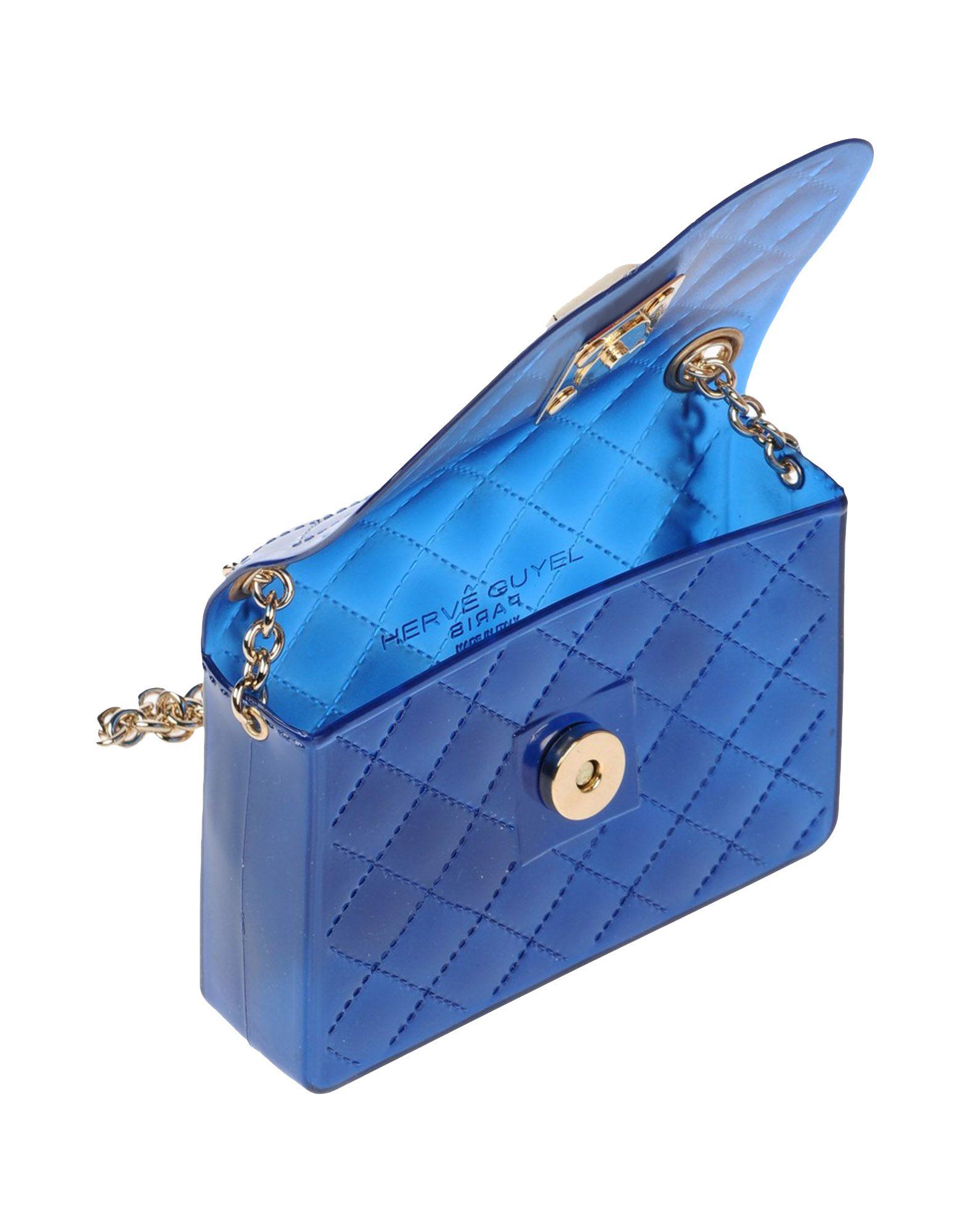 Hervê Guyel Cross-body Bag in Blue