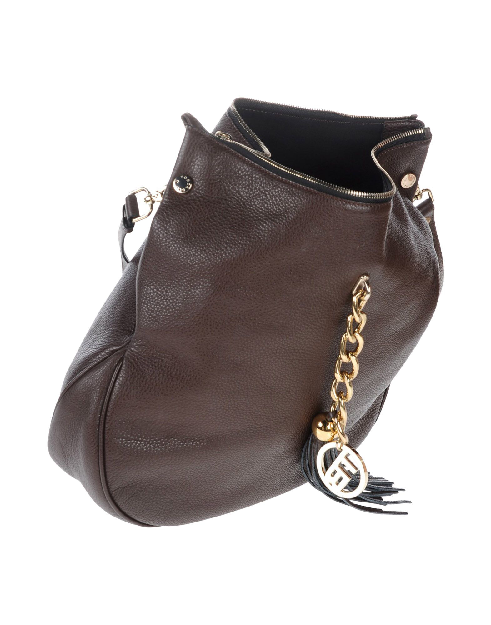 Tosca Blu Leather Cross-body Bag in Brown