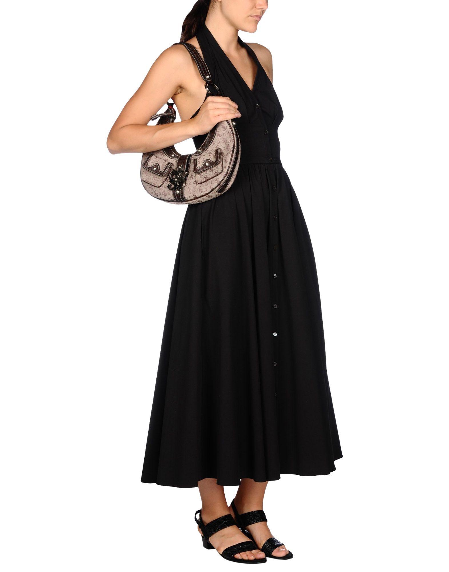 Lyst Guess Shoulder Bag In Natural