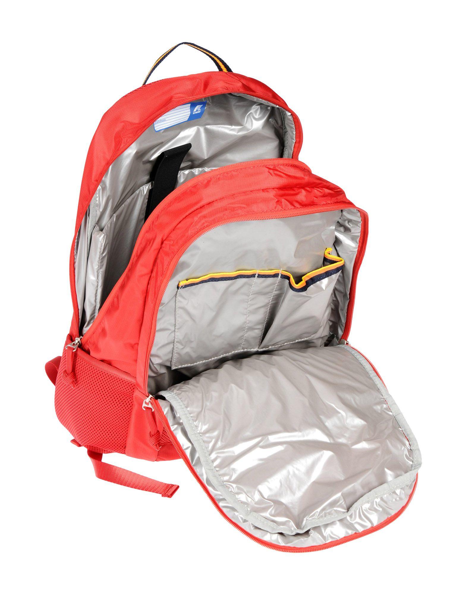 K-Way Neoprene Backpacks & Fanny Packs in Red for Men