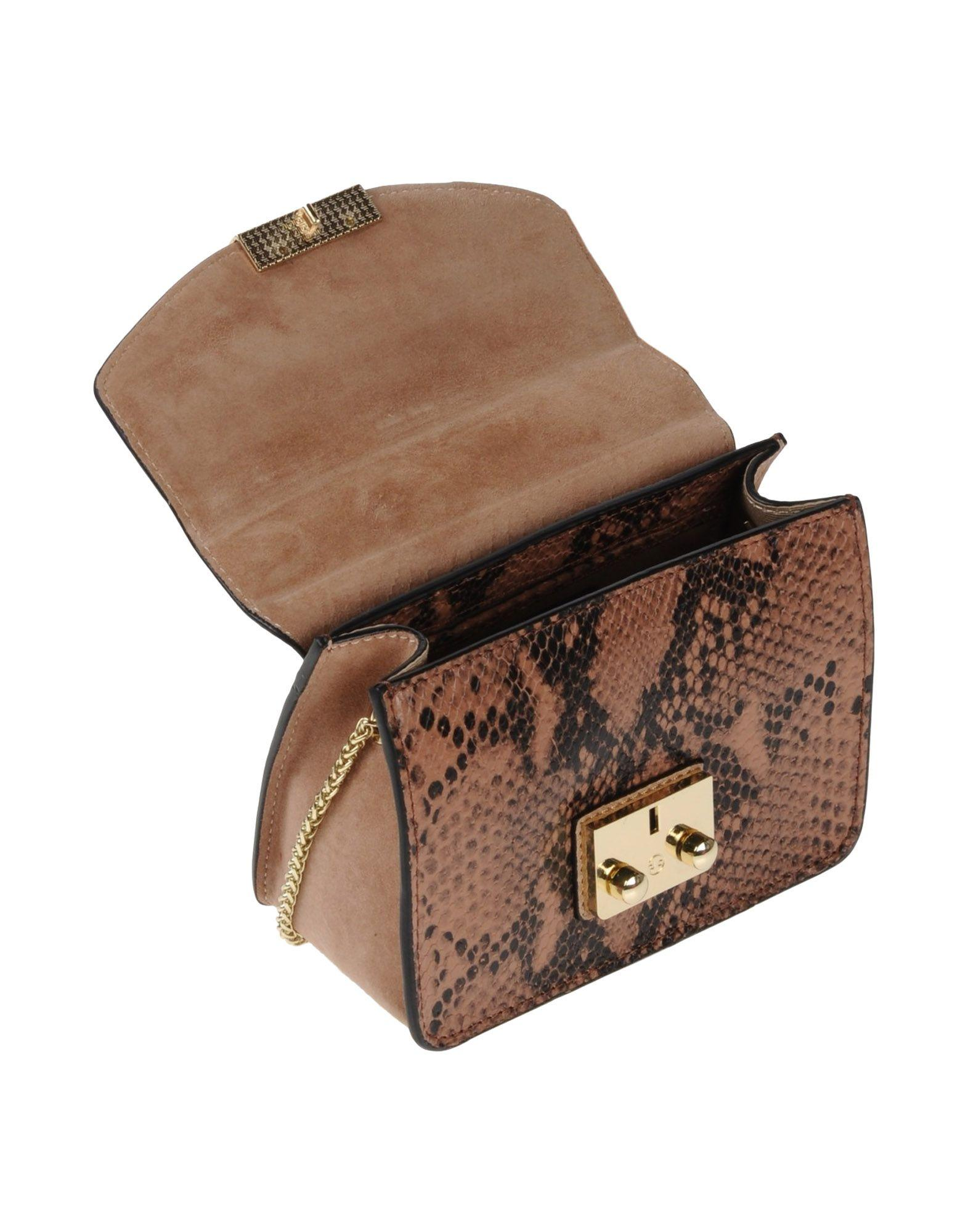 Lola Cruz Leather Cross-body Bag