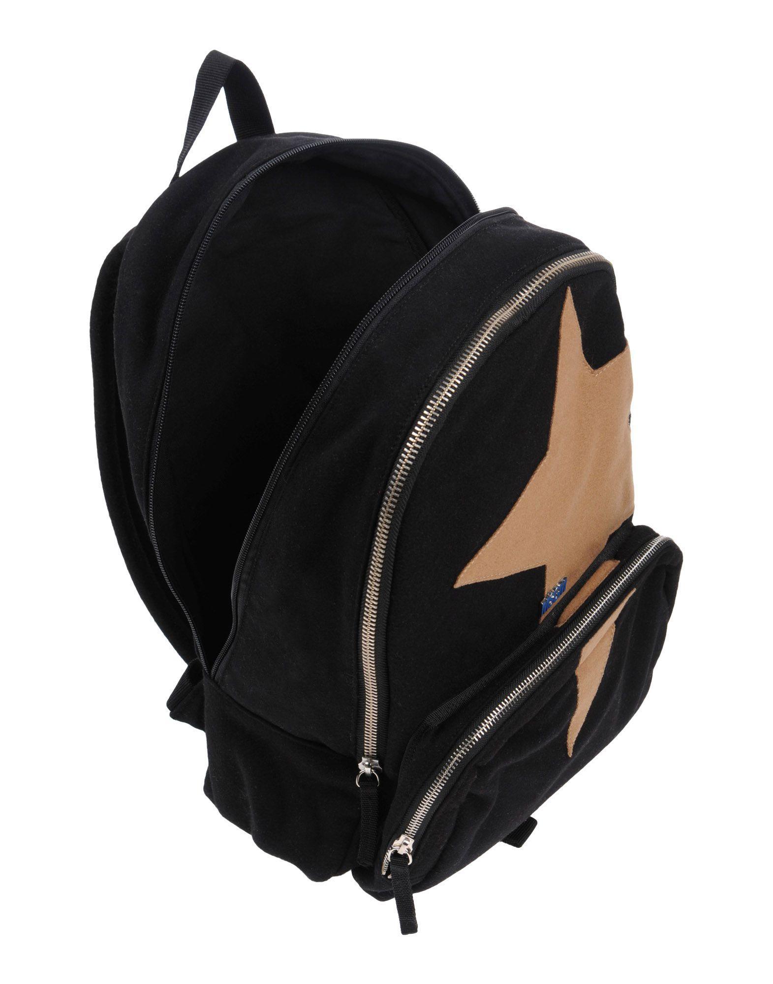 MSGM Backpacks & Fanny Packs in Black for Men