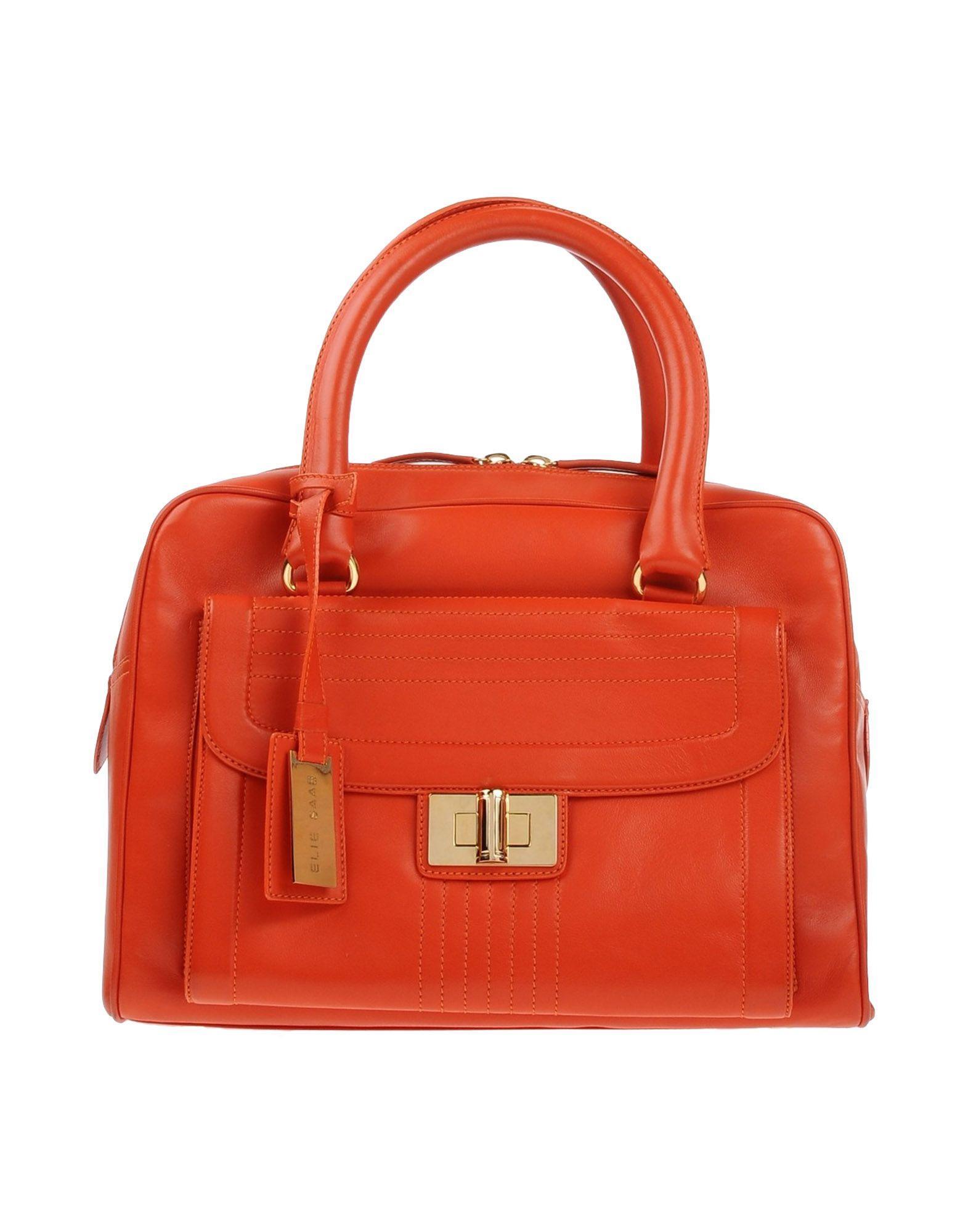 Lyst Elie Saab Handbag In Orange