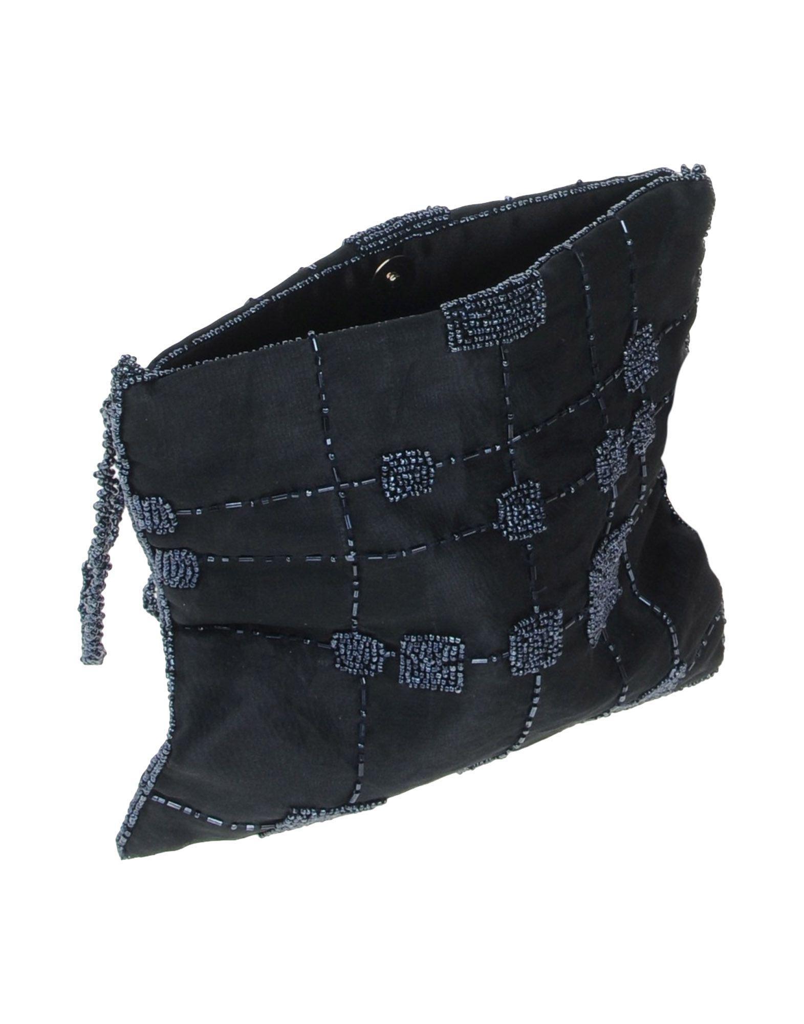 Caractere Satin Cross-body Bag in Dark Blue (Blue)