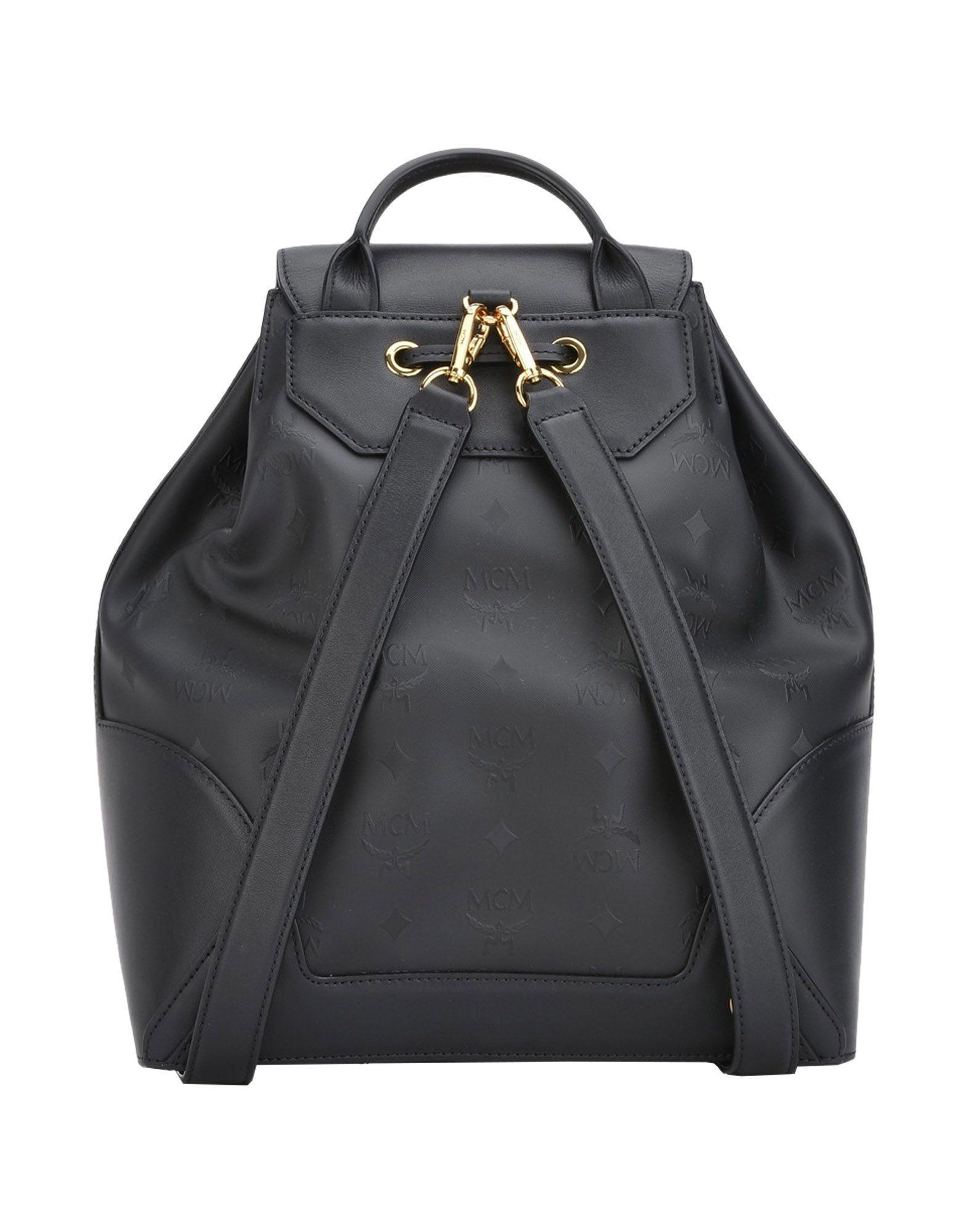 mcm backpacks fanny packs in black lyst. Black Bedroom Furniture Sets. Home Design Ideas
