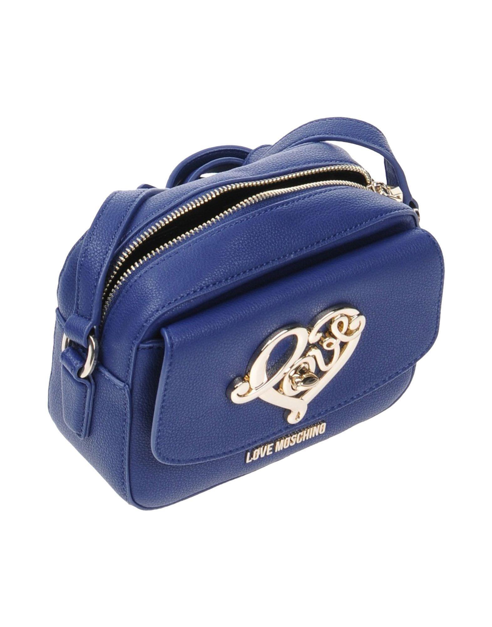 Love Moschino Cross-body Bag in Dark Blue (Blue)