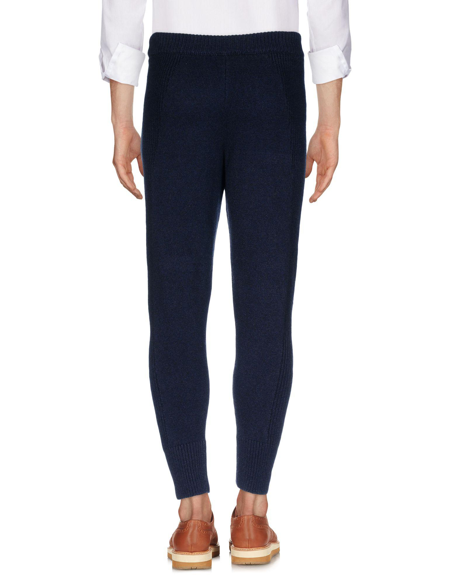 DSquared² Wool Casual Trouser in Dark Blue (Blue) for Men
