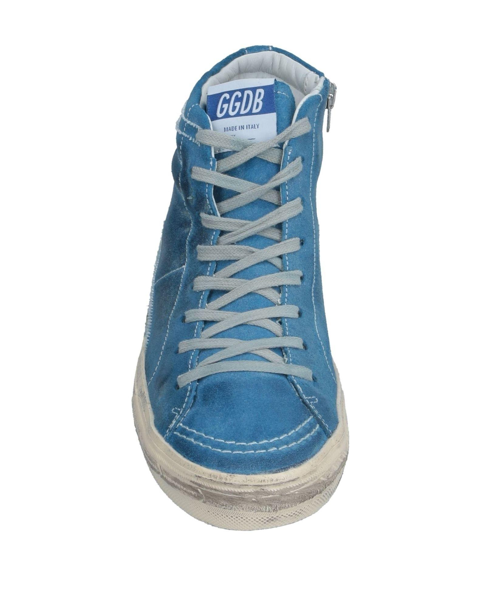Sneakers abotinadas Golden Goose Deluxe Brand de Cuero de color Azul para hombre