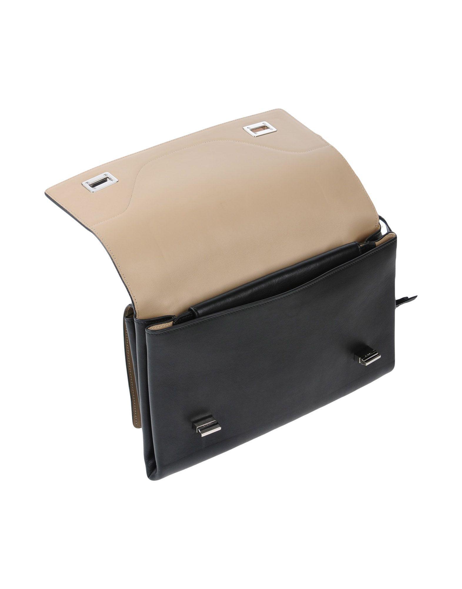 Prada Leather Cross-body Bag in Black