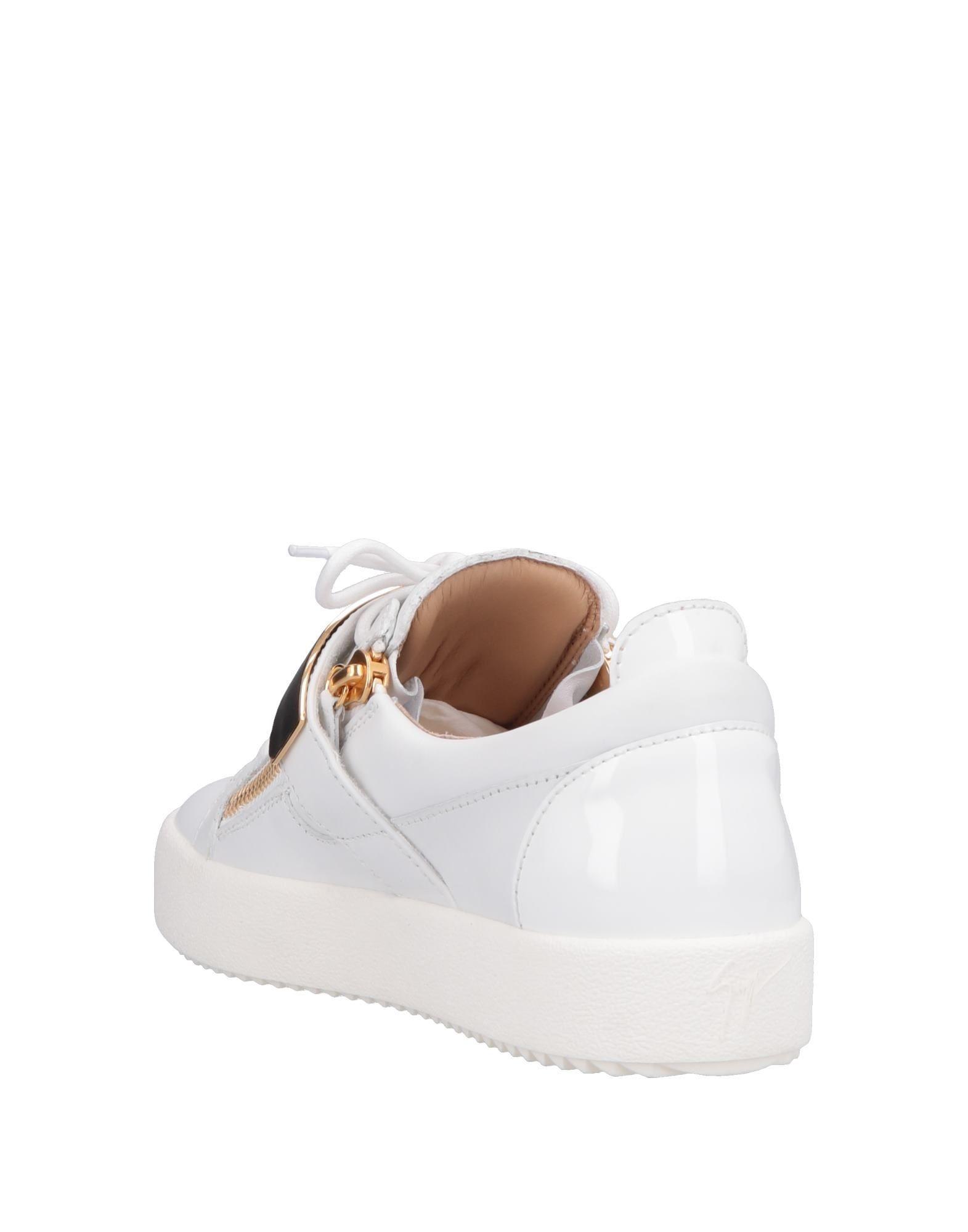 Sneakers & Tennis basses Cuir Giuseppe Zanotti pour homme en coloris Blanc 3INi