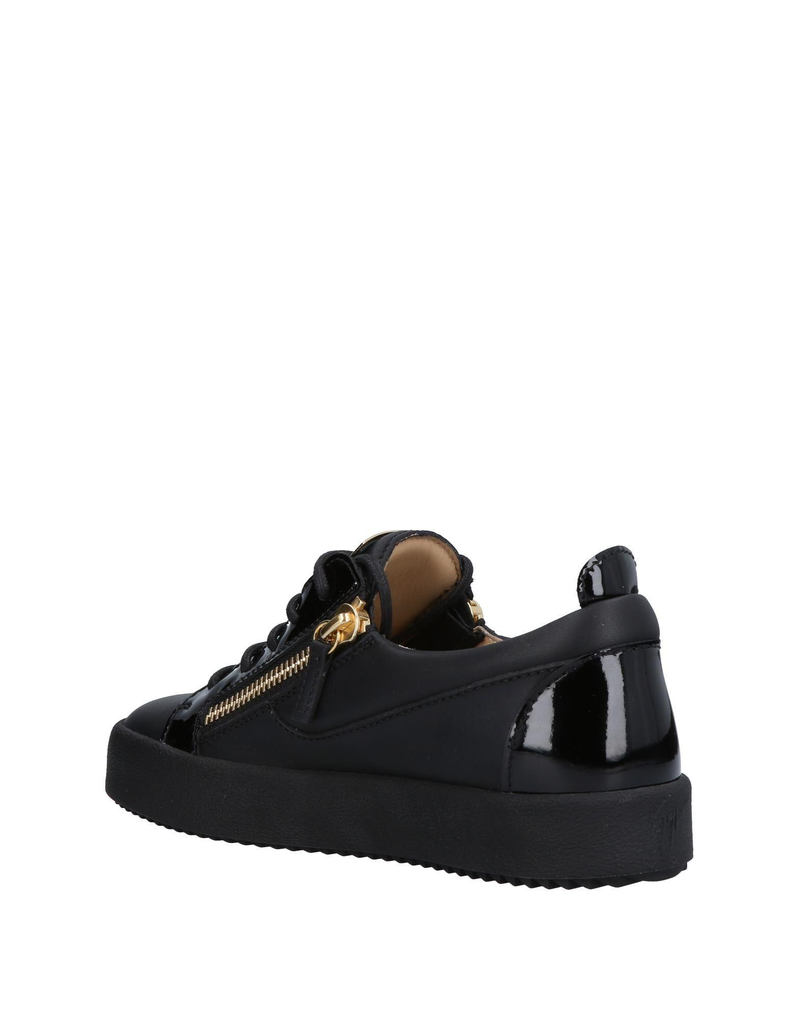 Sneakers & Deportivas Giuseppe Zanotti de Cuero de color Negro