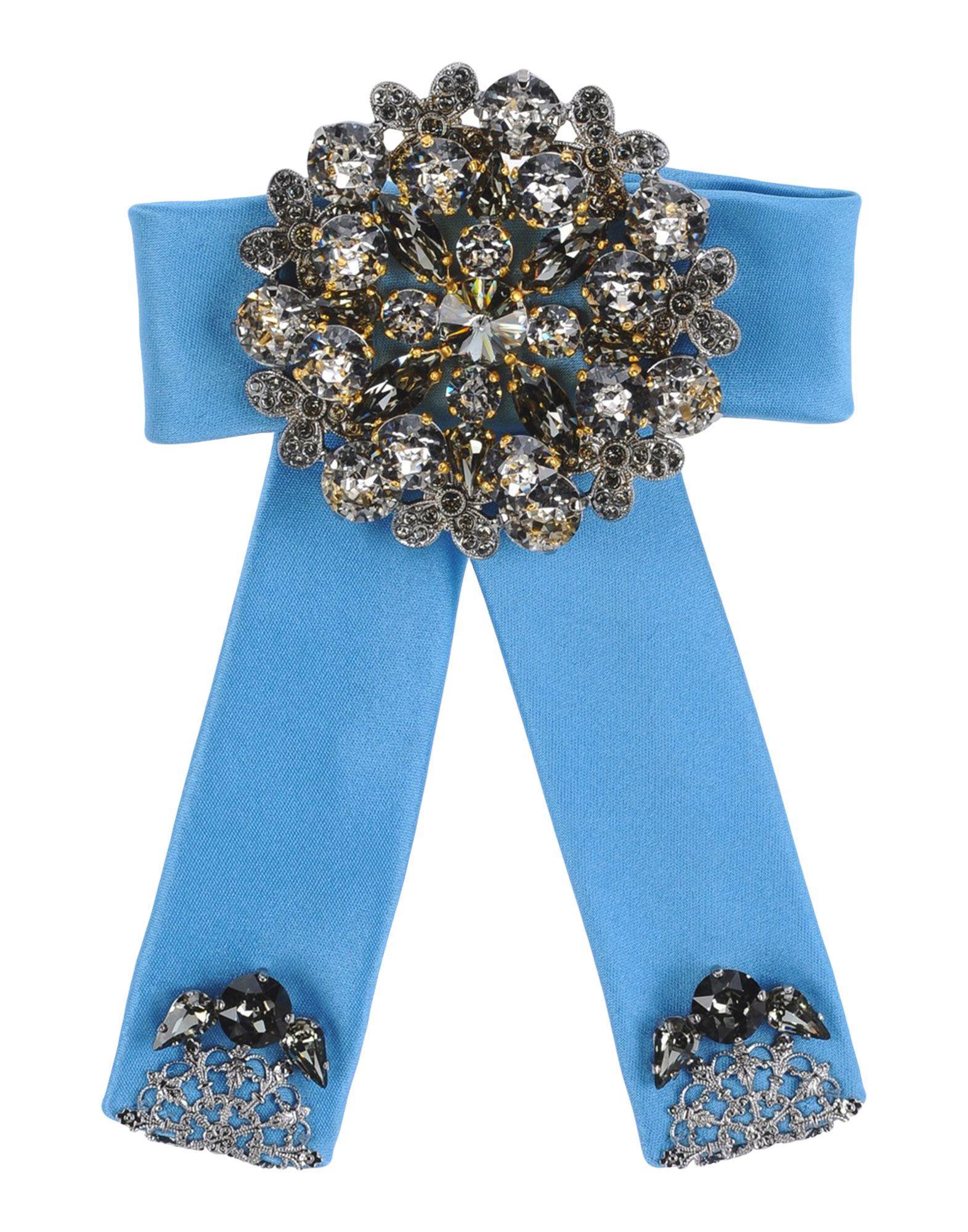 Dolce Gabbana Hair Accessory In Blue Lyst