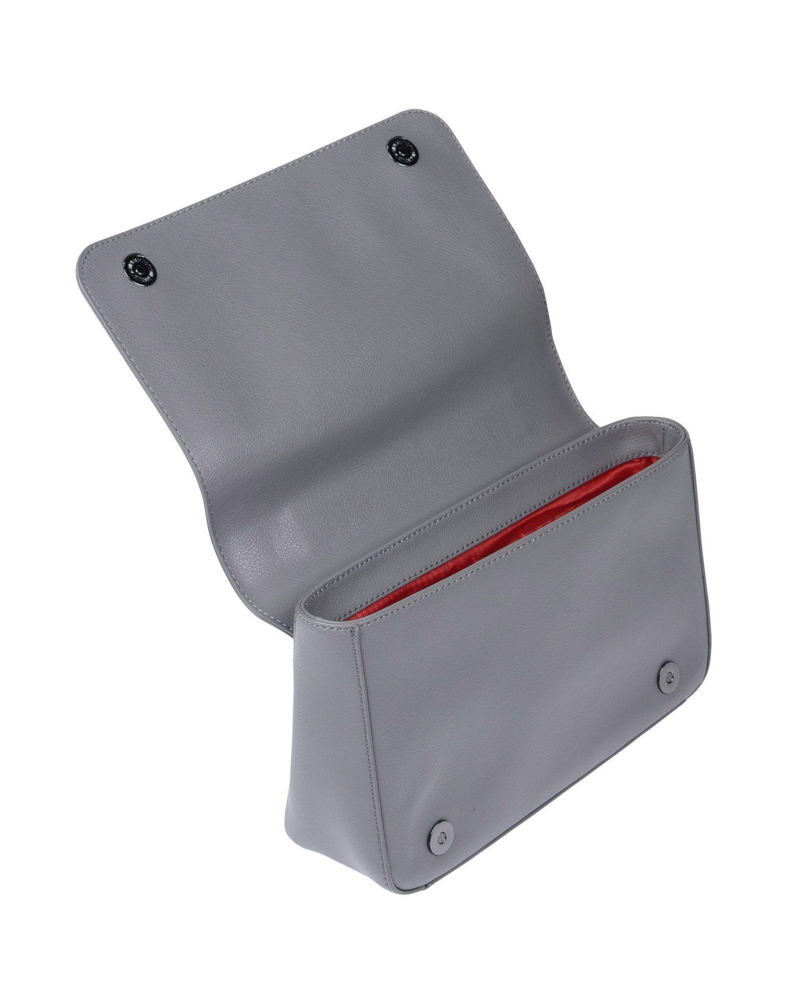 Love Moschino Leather Cross-body Bag in Grey (Grey)