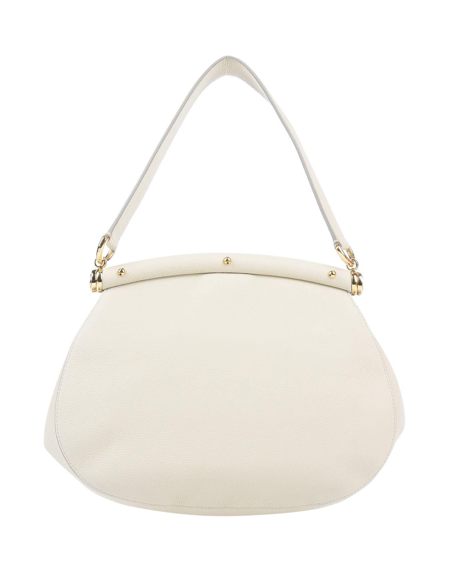 Sac à main Cuir Dolce & Gabbana en coloris Blanc mzmS