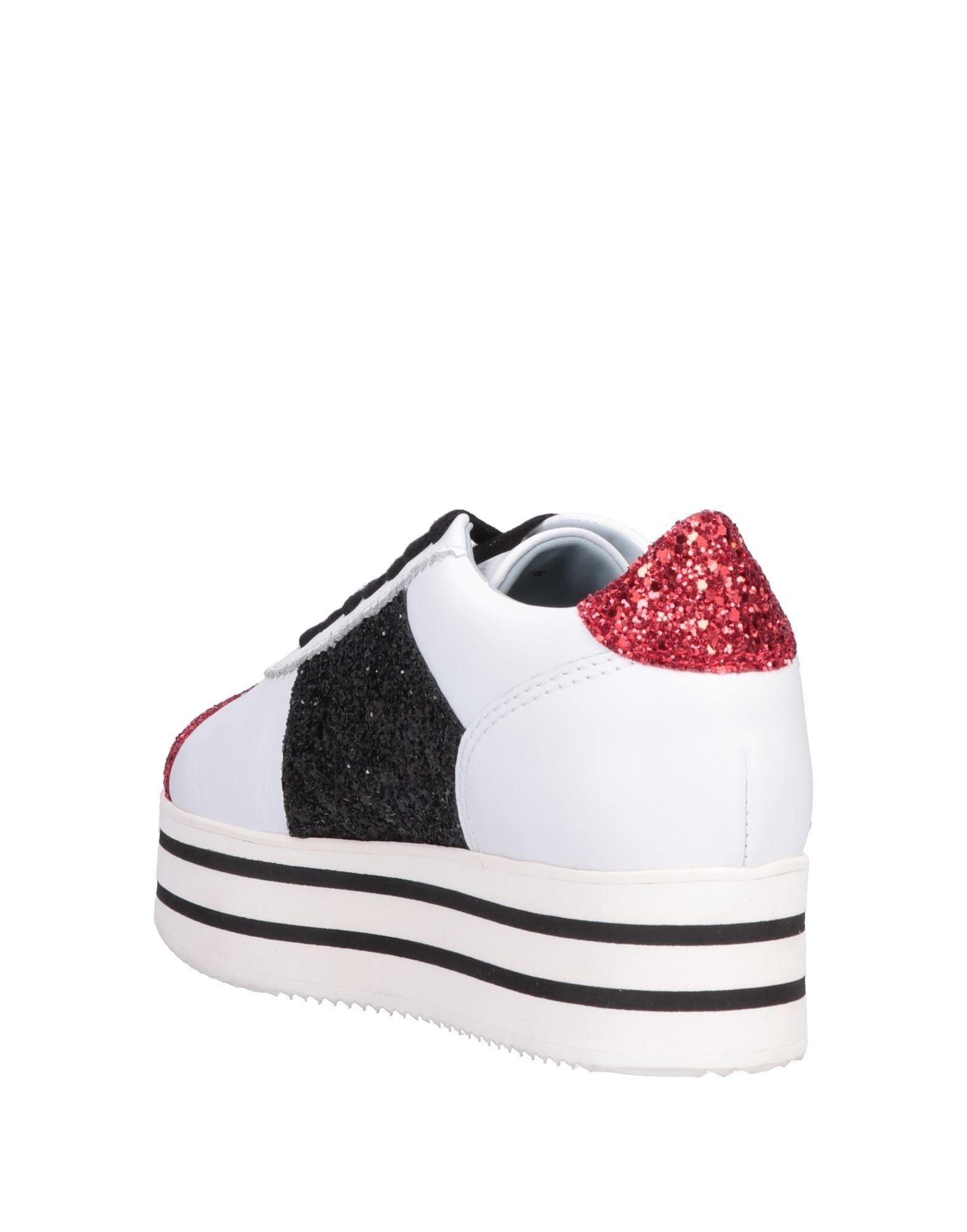 Sneakers & Deportivas Chiara Ferragni de Cuero de color Rojo