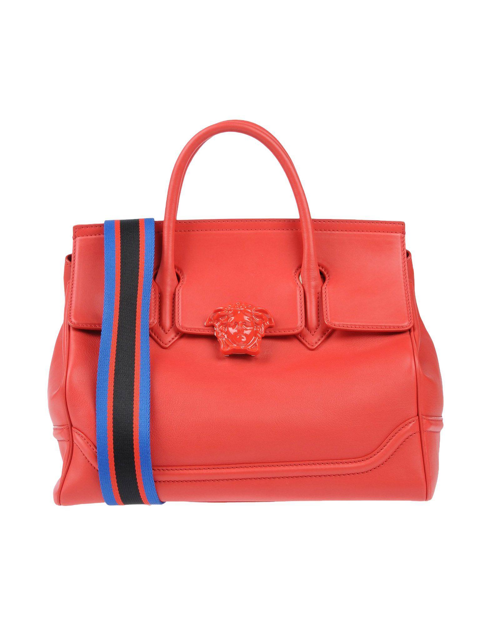 Lyst - Versace Handbag in Red f3bb336743415