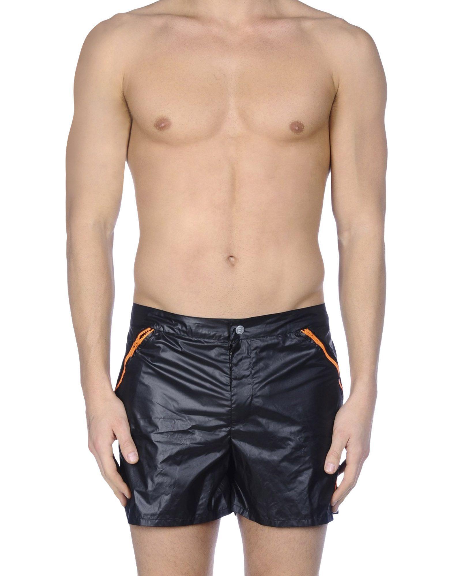 Robinson les bains Swim Trunks in Black for Men