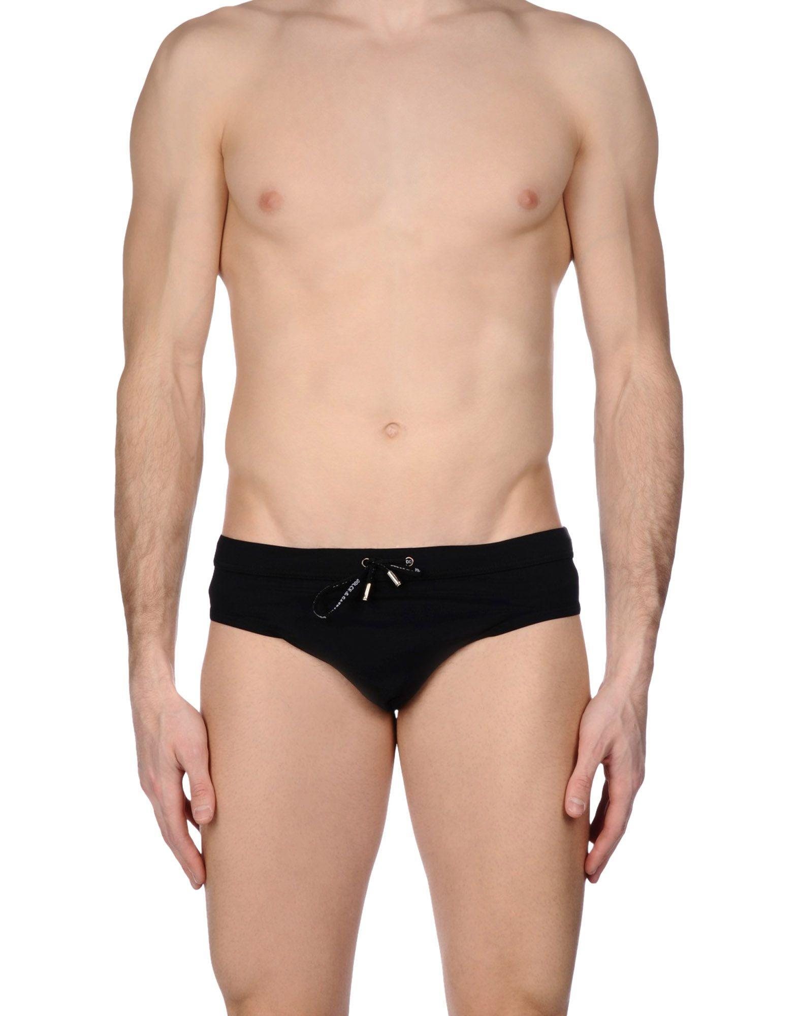 Dolce & gabbana Swim Brief in Black for Men