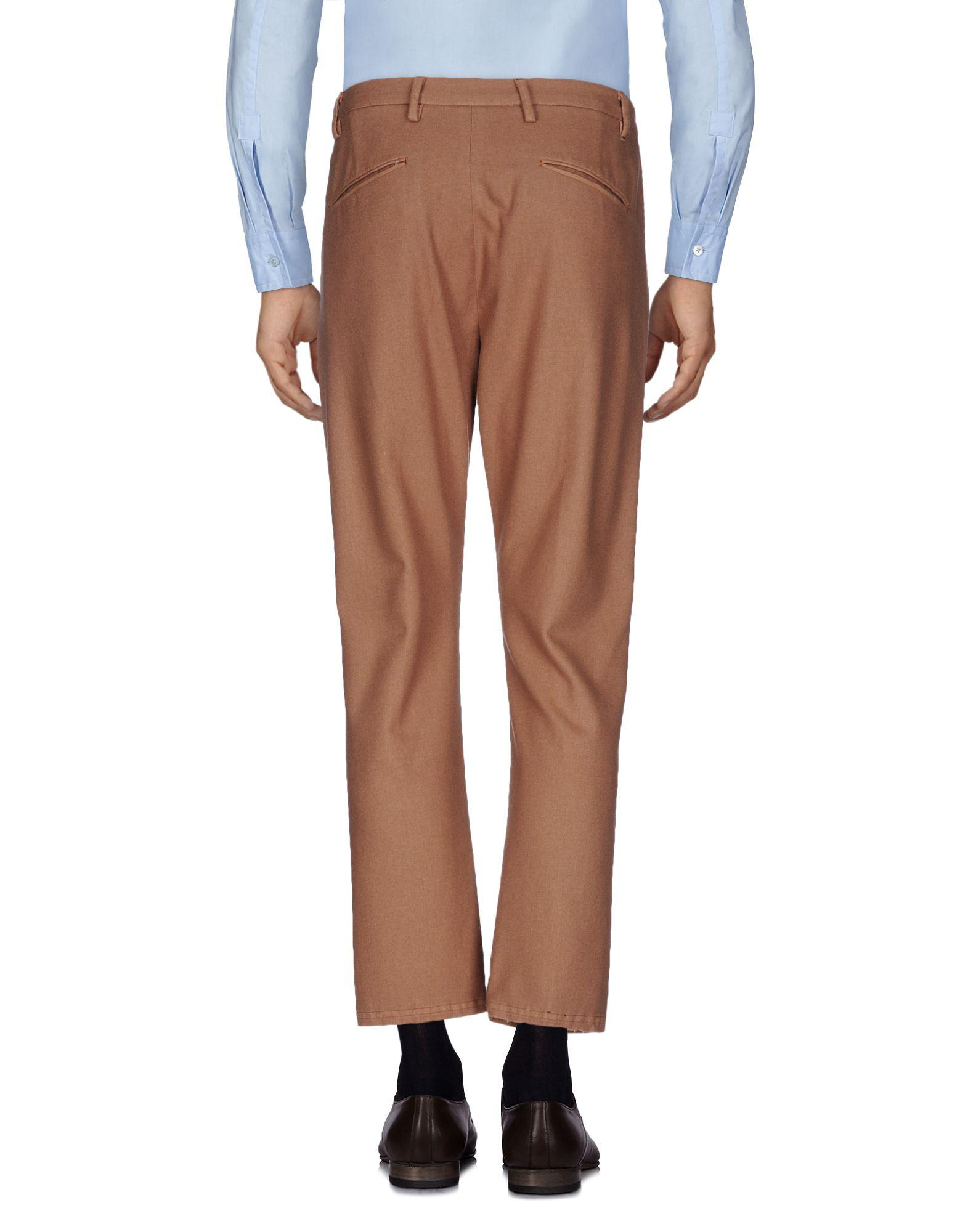 Pence Flannel Casual Trouser in Khaki (Natural) for Men