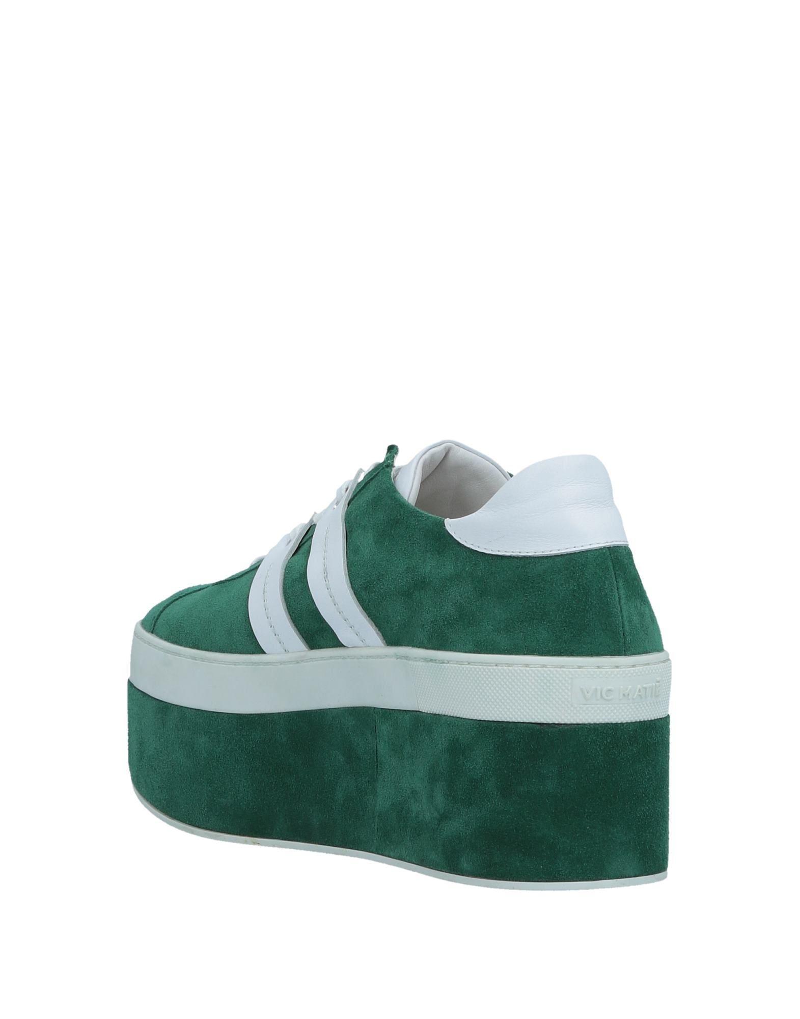 Vic Matié Suede Low-tops & Sneakers in Green
