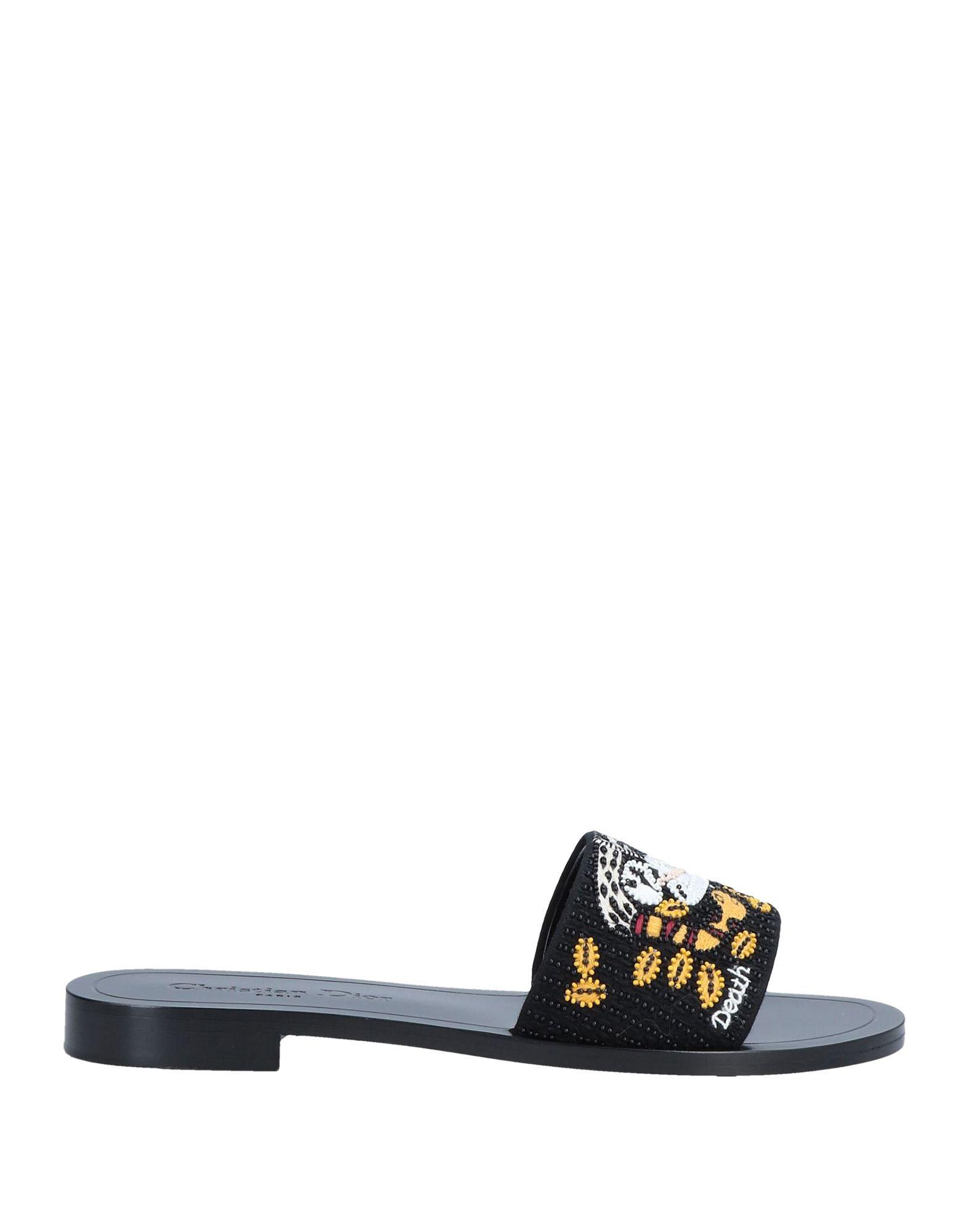 b20ef3e678e Lyst - Dior Sandals in Black