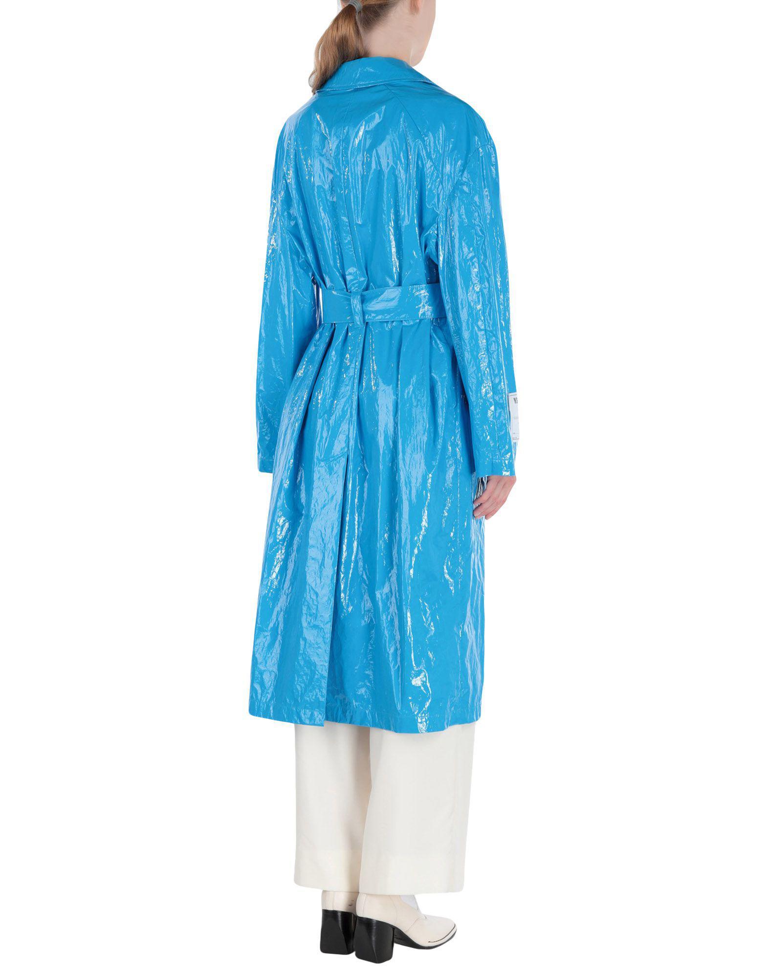 Gabardina MSGM de color Azul