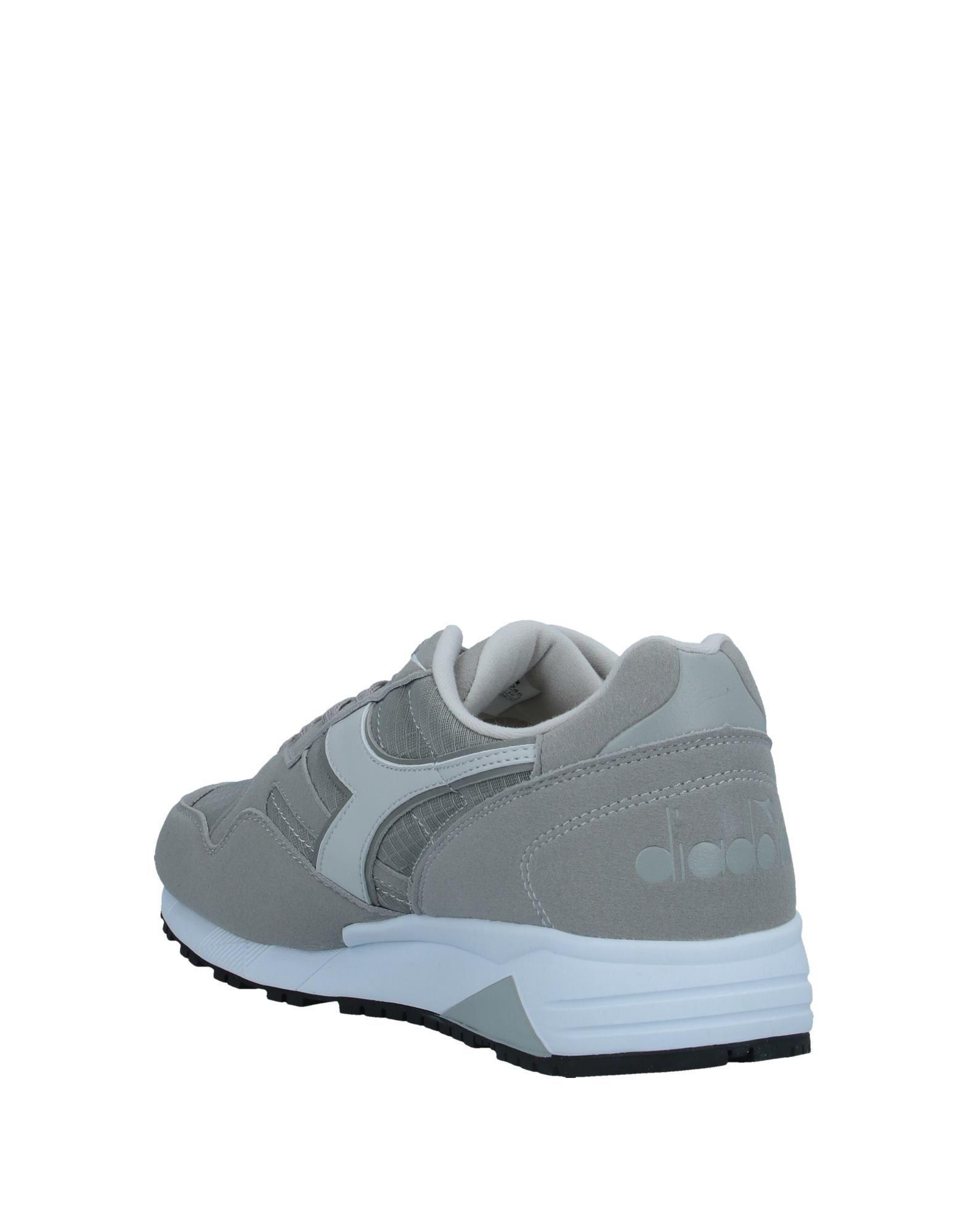 Sneakers & Deportivas Diadora de Ante de color Gris para hombre