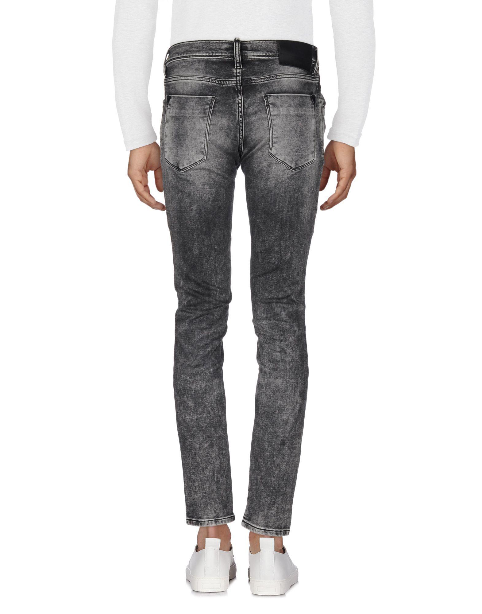 Antony Morato Denim Trousers in Steel Grey (Grey) for Men
