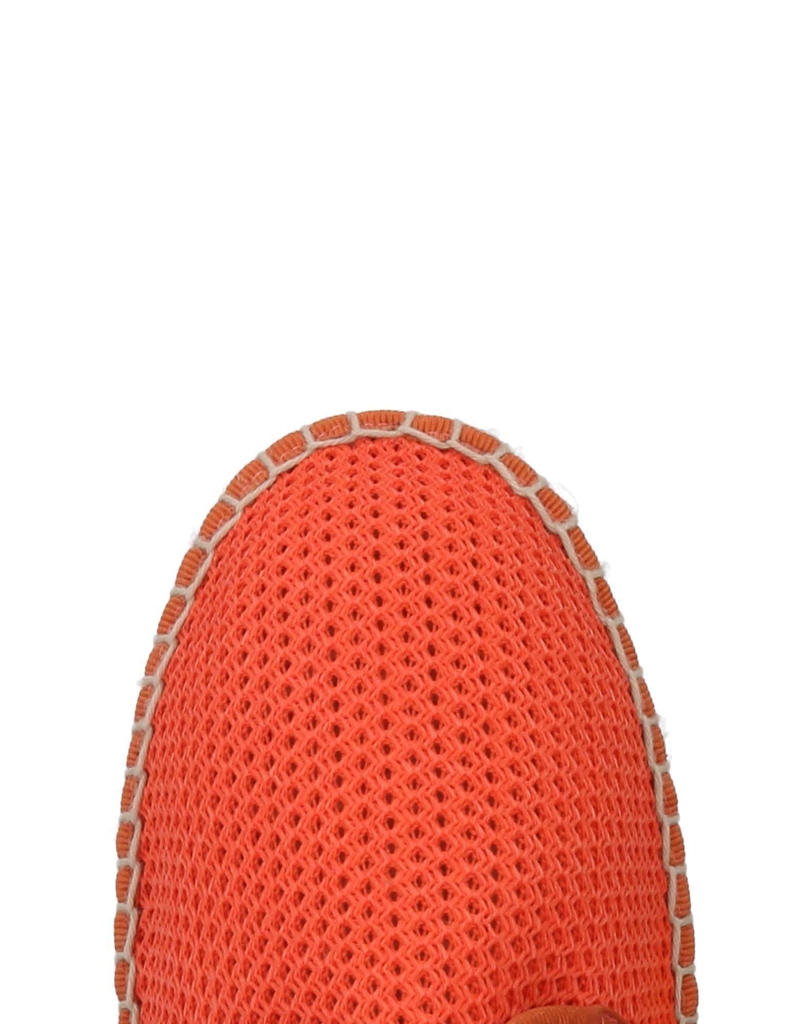 1789 Cala Rubber Espadrilles in Orange for Men