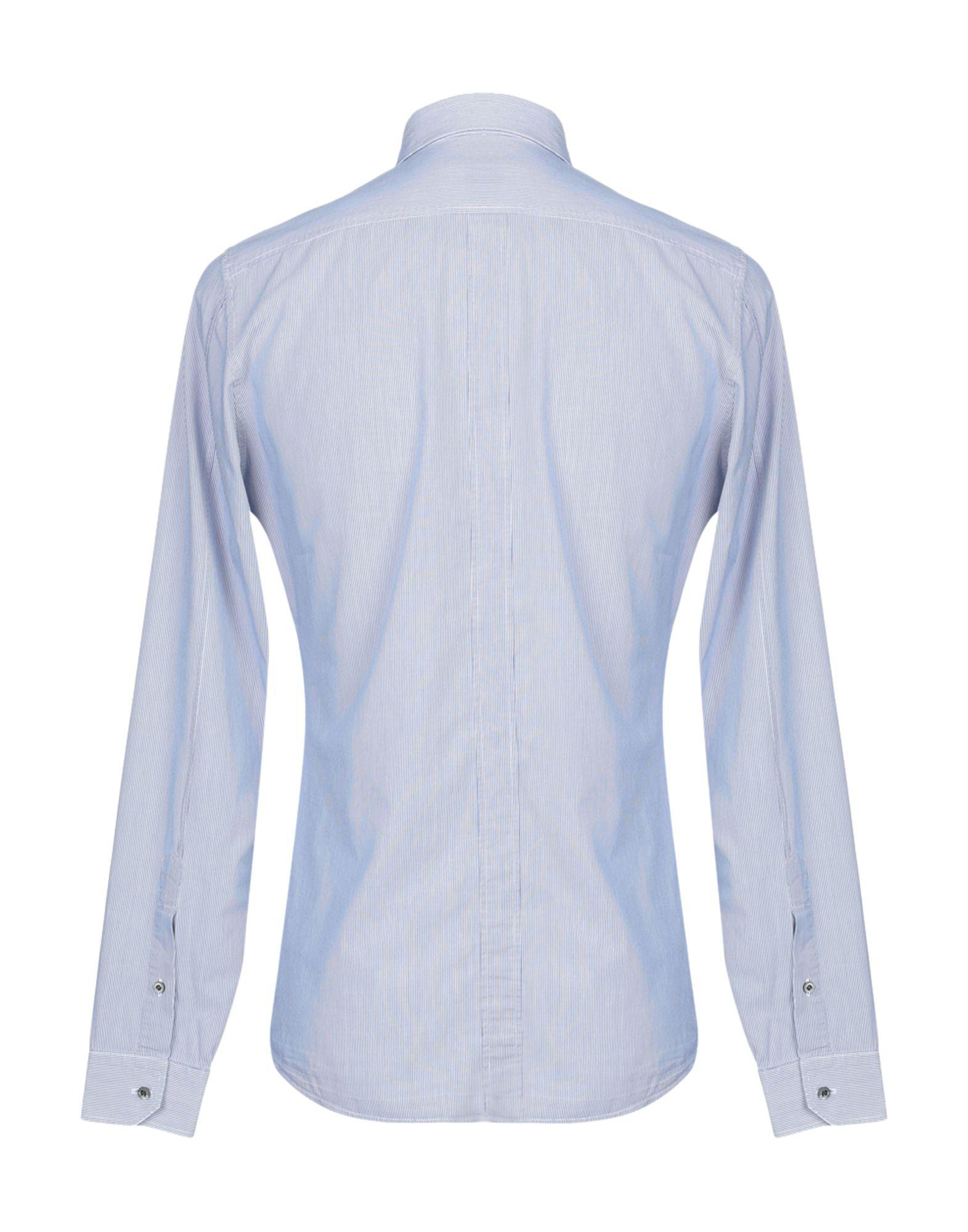 da3e6080aac9 Lyst - Gucci Shirt in Blue for Men